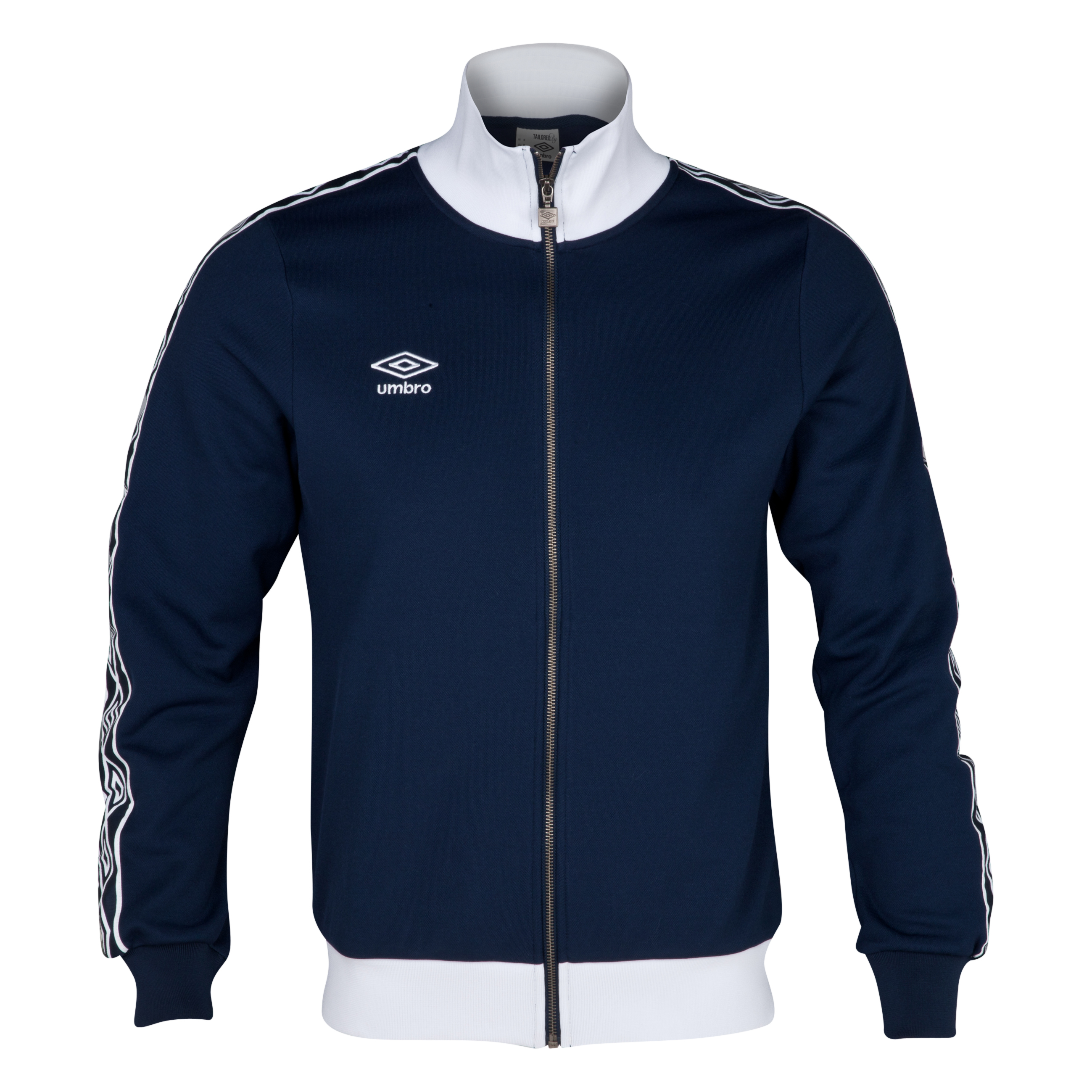 Umbro Heritage Diamond Track Jacket - Dark Navy/White