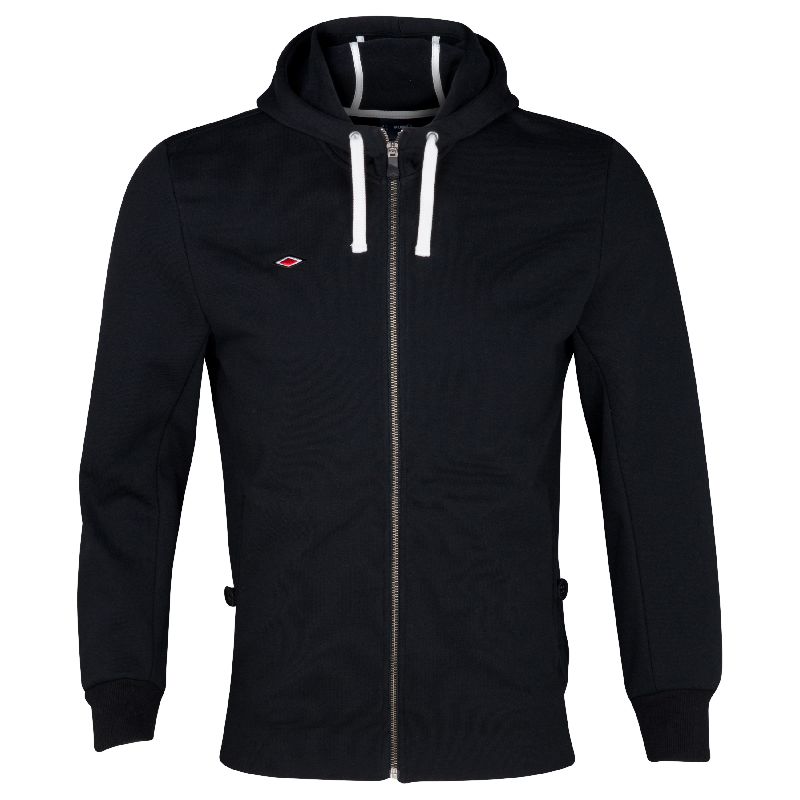 Umbro Full Zip Hooded Sweatshirt - Black
