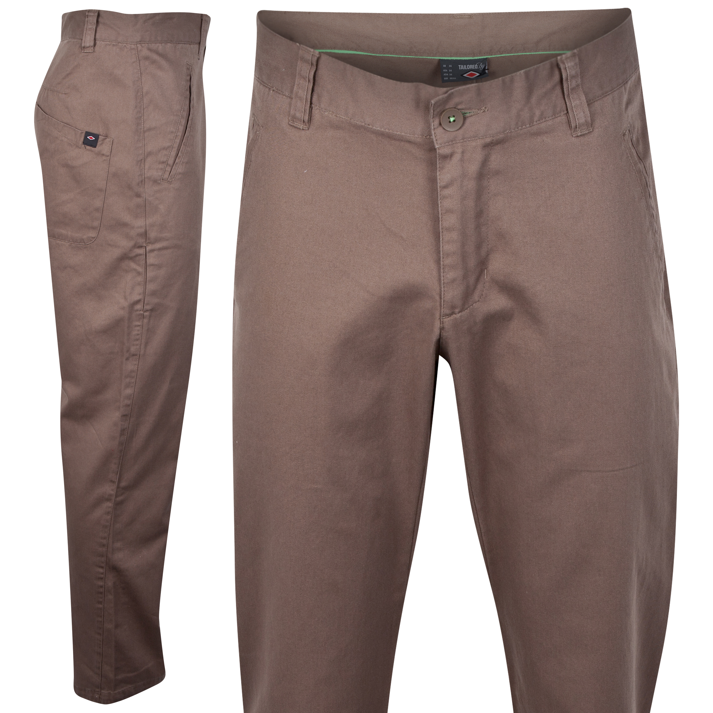 Umbro Articulated Woven Pant - Walnut