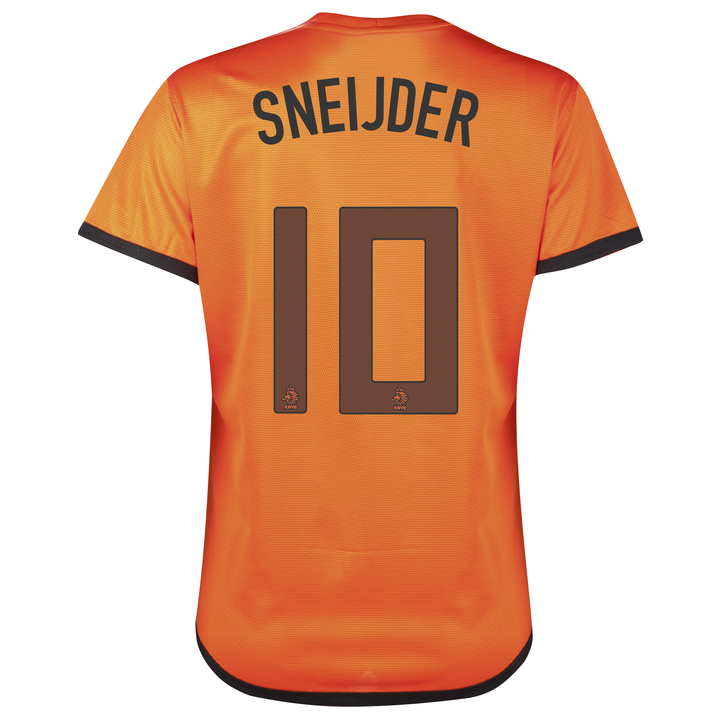 Netherlands Home Shirt 2012/13 - Womens with Sneijder 10 printing