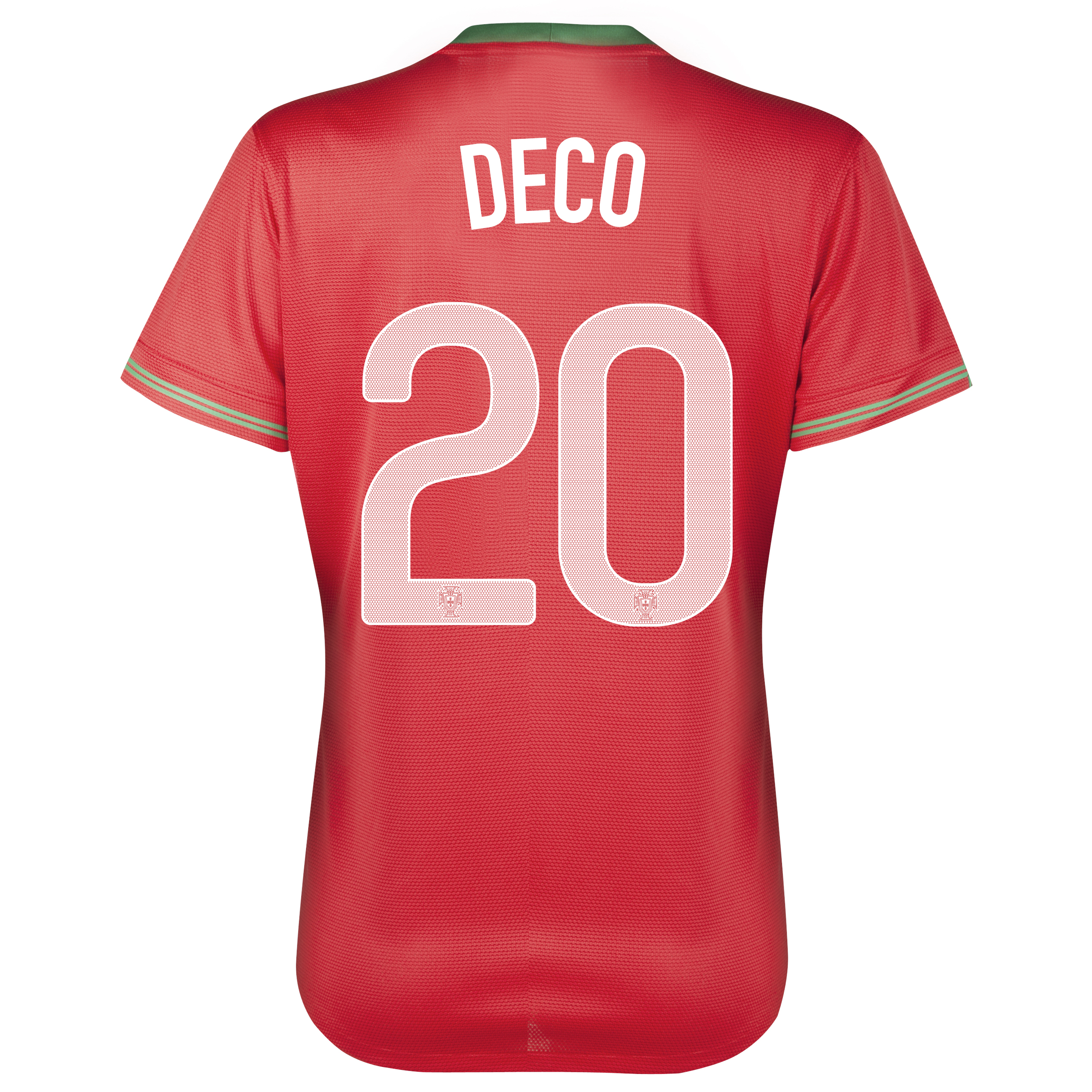 Portugal Home Shirt 2012/13 - Womens with Deco 20 printing