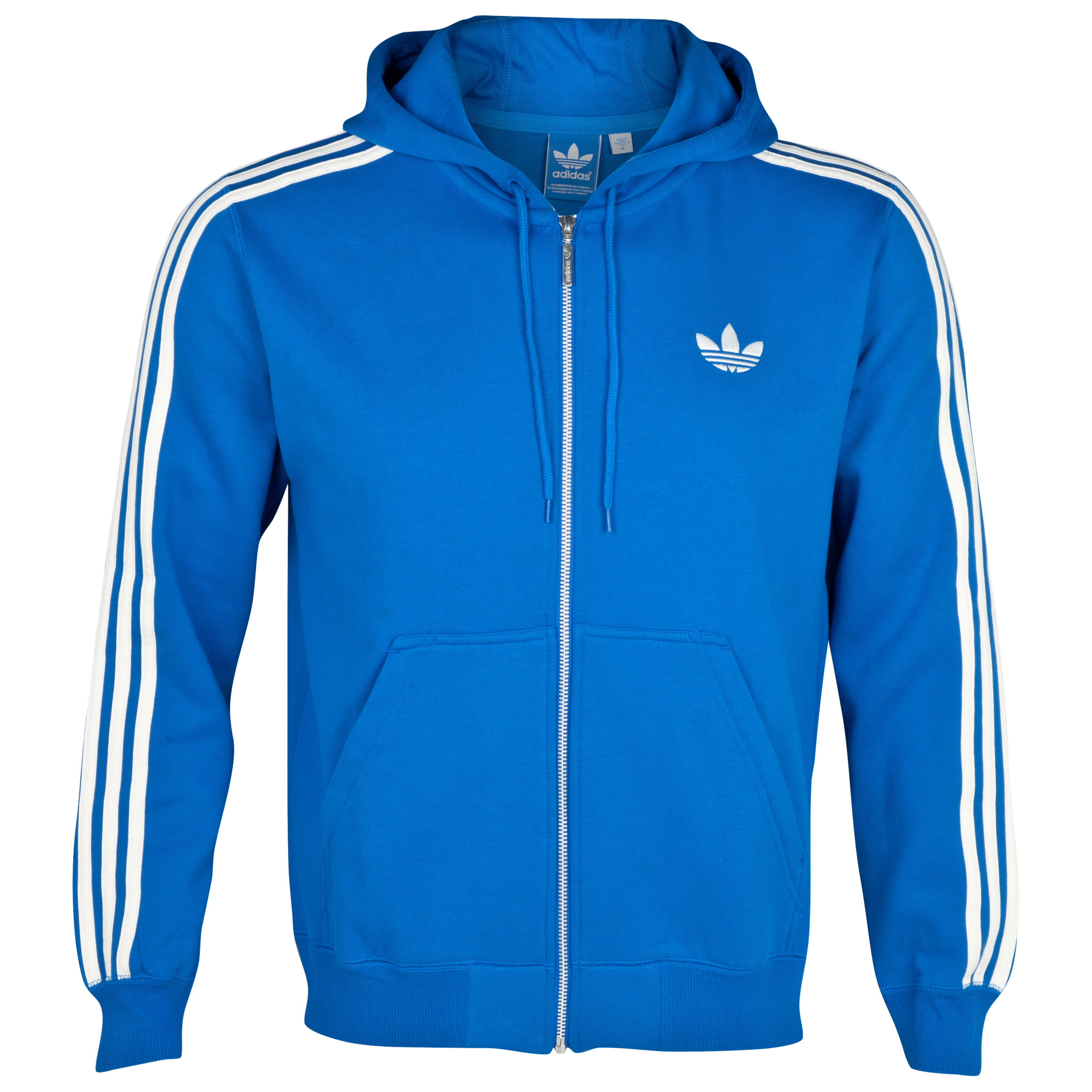 Originals Sweat Hooded Flock FZ - Bluebird