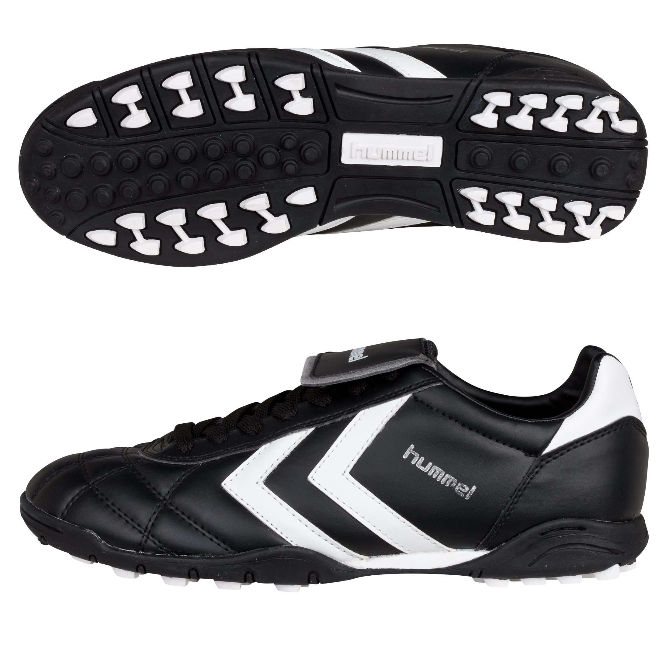 Hummel Old School Star Astro Turf Trainers - Black/White