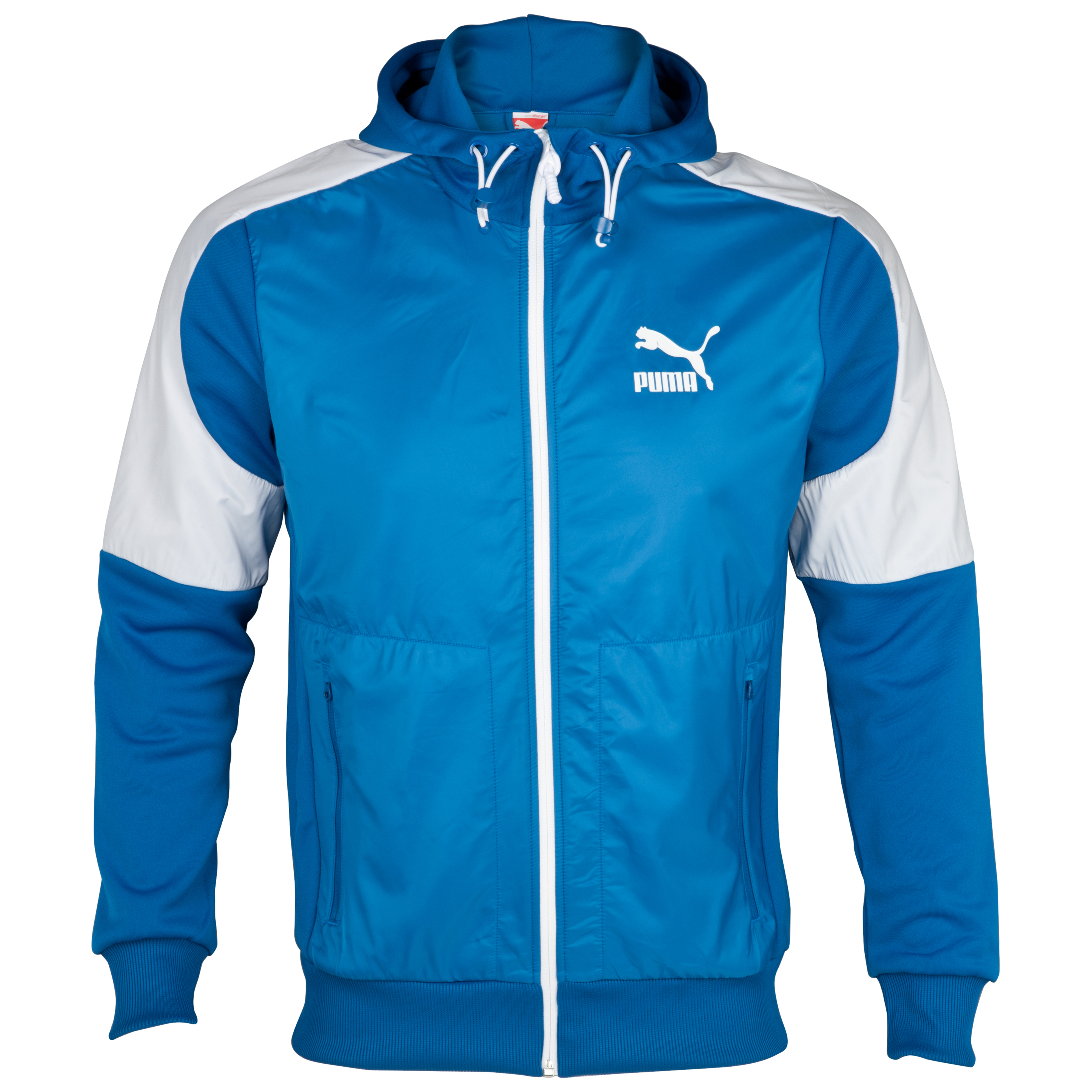 Puma Kai Track Jacket - Blue/White