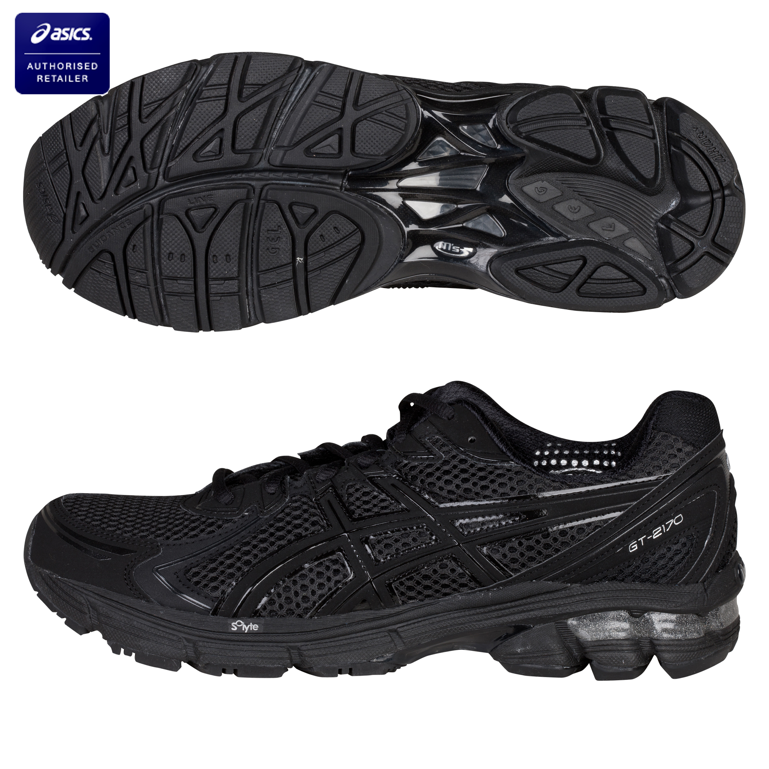 Asics GT-2170 Running Trainers - Black/Onyx/Lightning