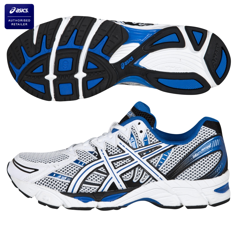 Asics Gel-Virage 6 Trainers - White/Black/Blue