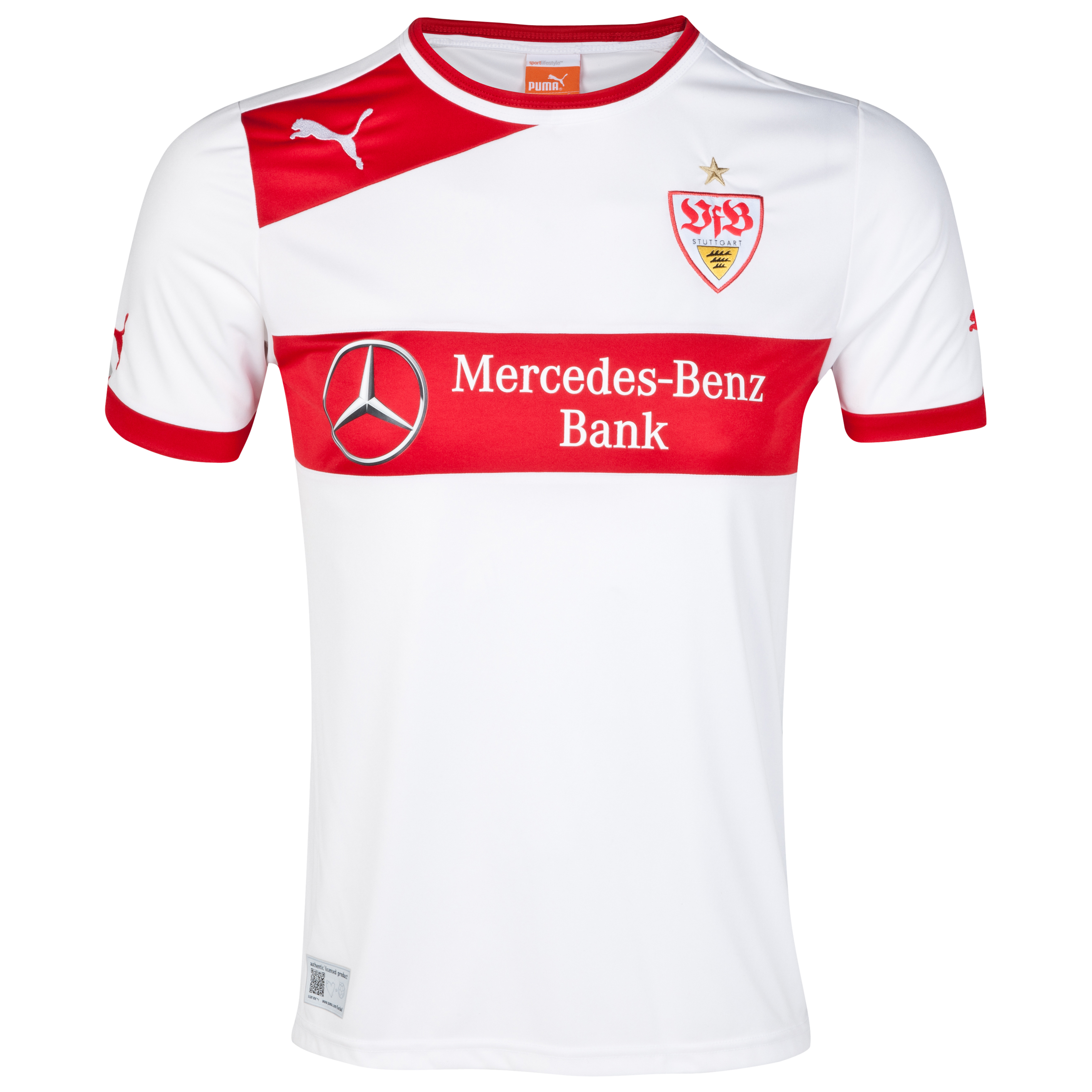 VFB Stuttgart Home Shirt 2012/13