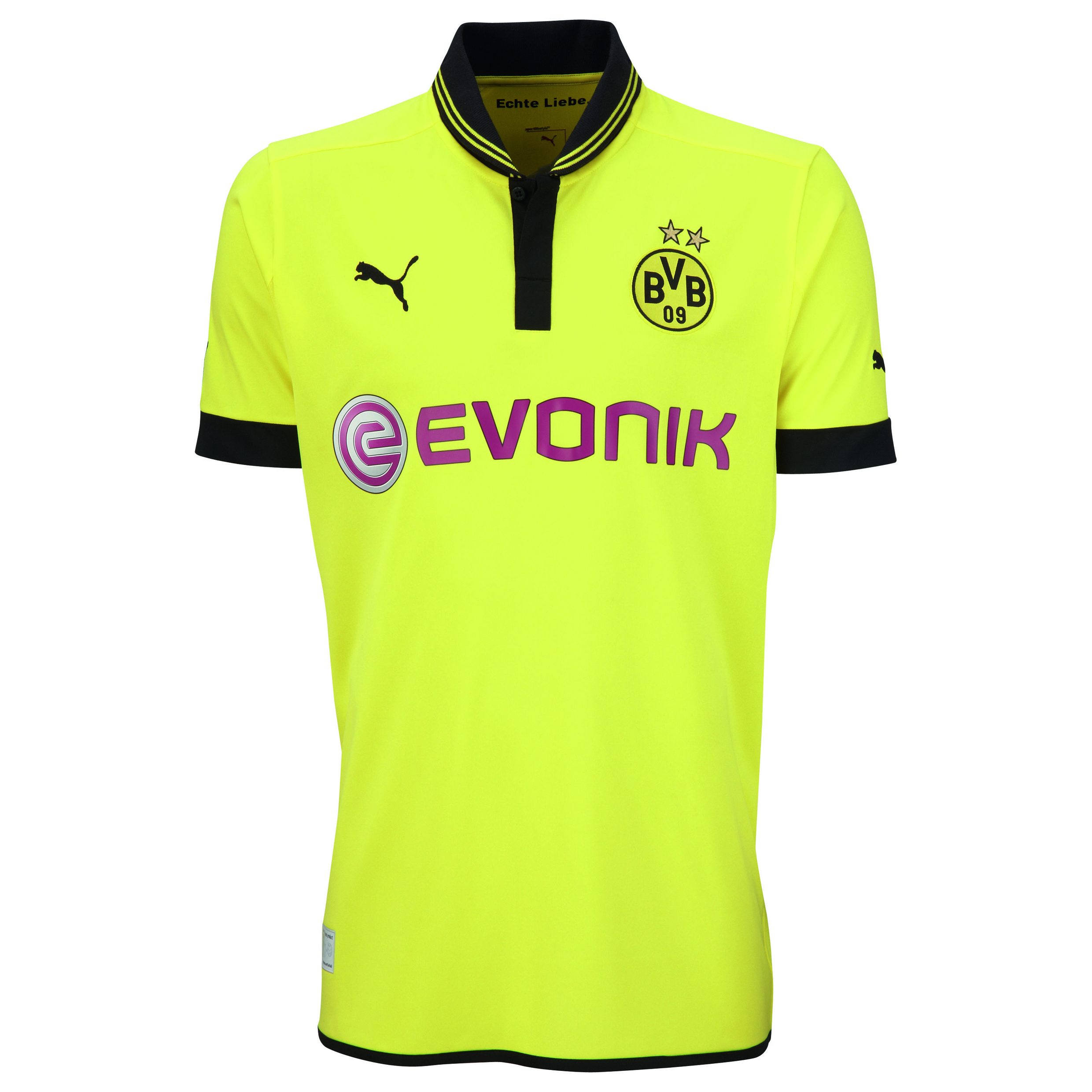 Borussia Dortmund 2012/13 Home Short Sleeve Shirt