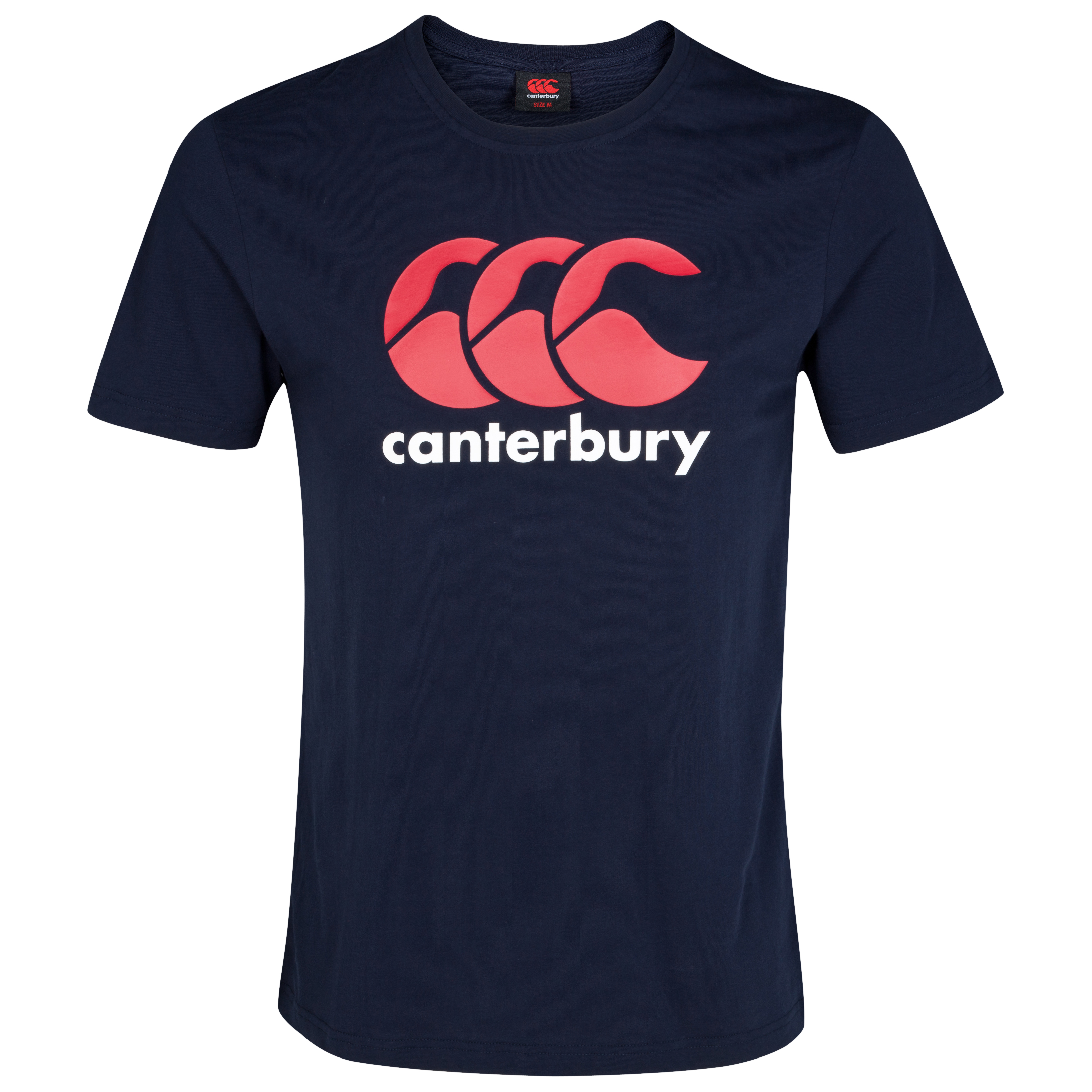 Canterbury CCC Logo T-Shirt - Flag Red