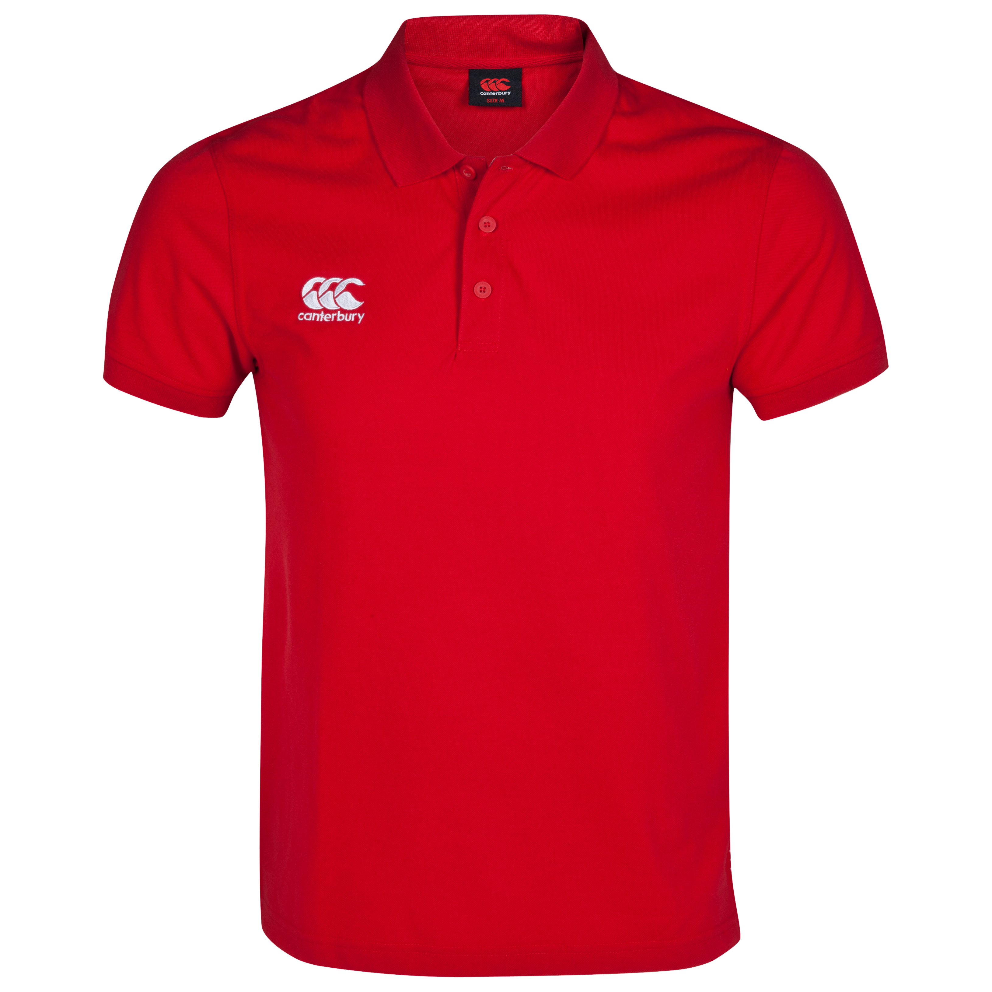 Canterbury Waimak Polo - Flag Red