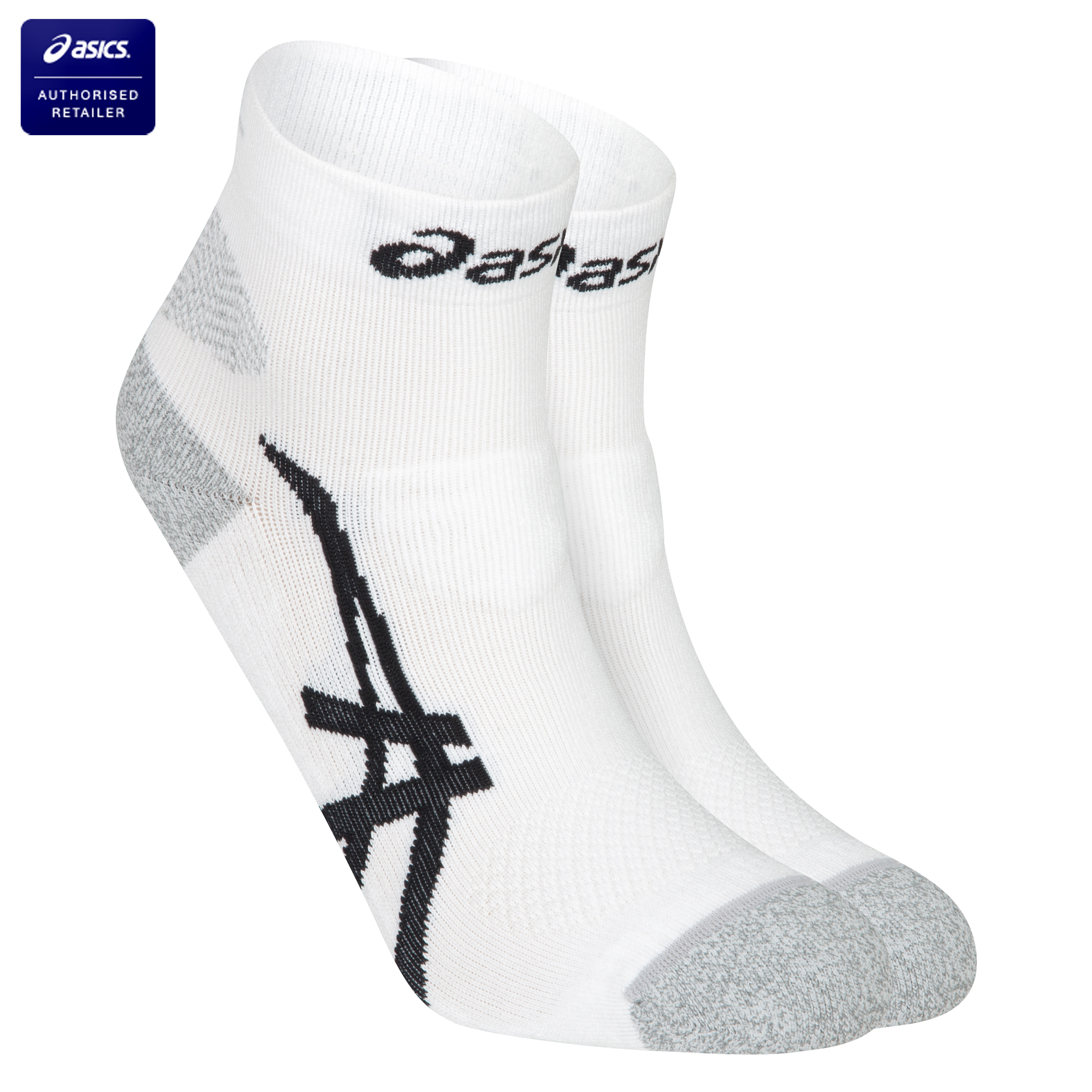 Asics Kayano Socks - White/Black