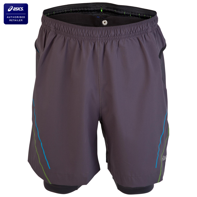 Asics Trail 2-in-1 Shorts - Iron