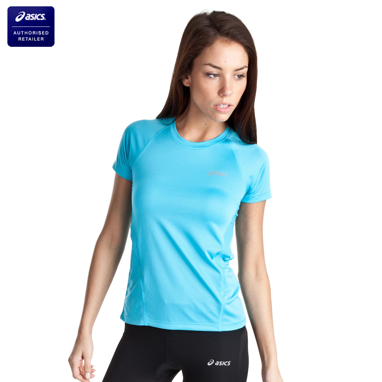 Asics Vesta Crew T-Shirt - Aquarium - Womens