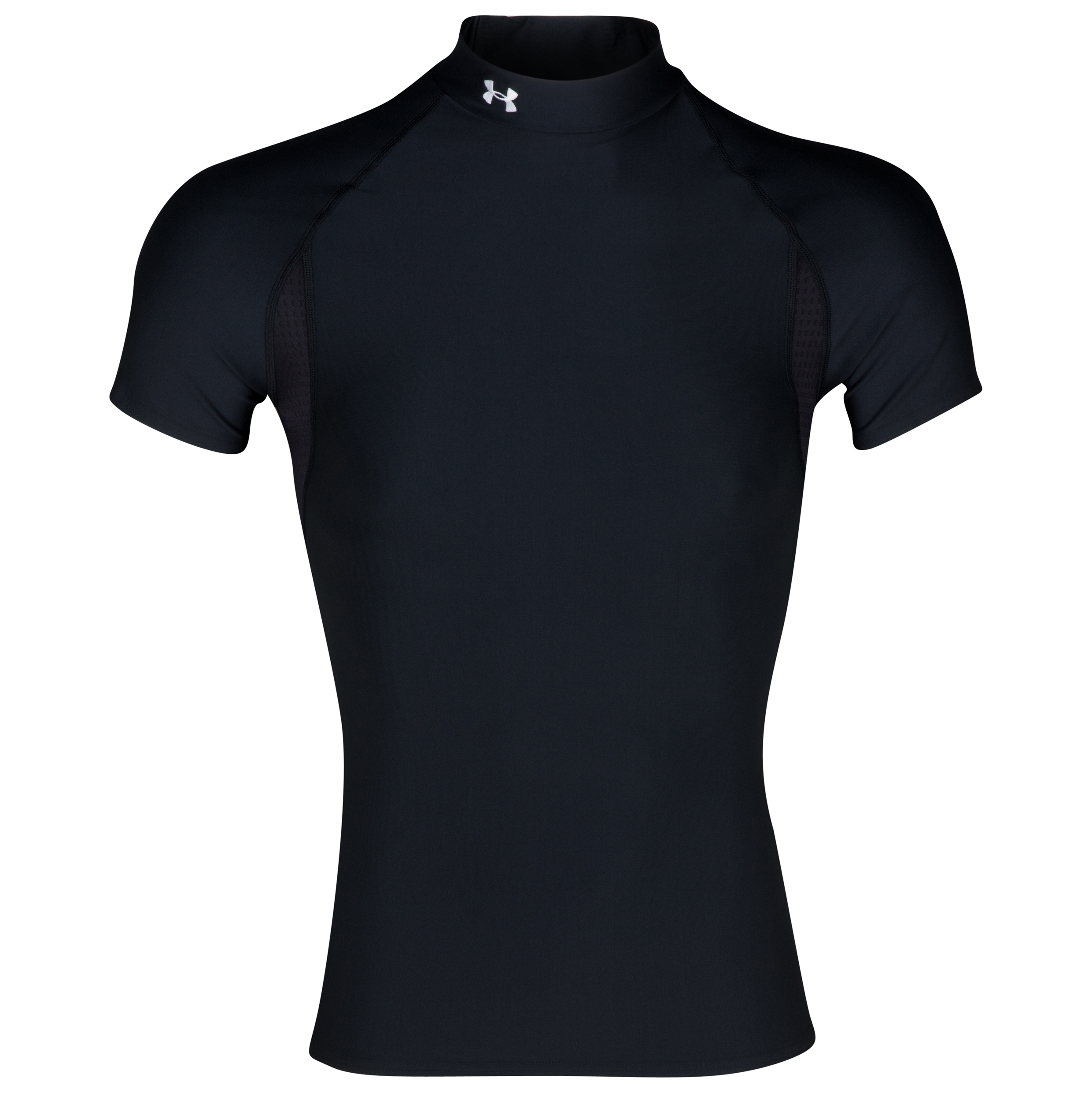 Under Armour Coldgear Short Sleeve Evo Mock Top - Black