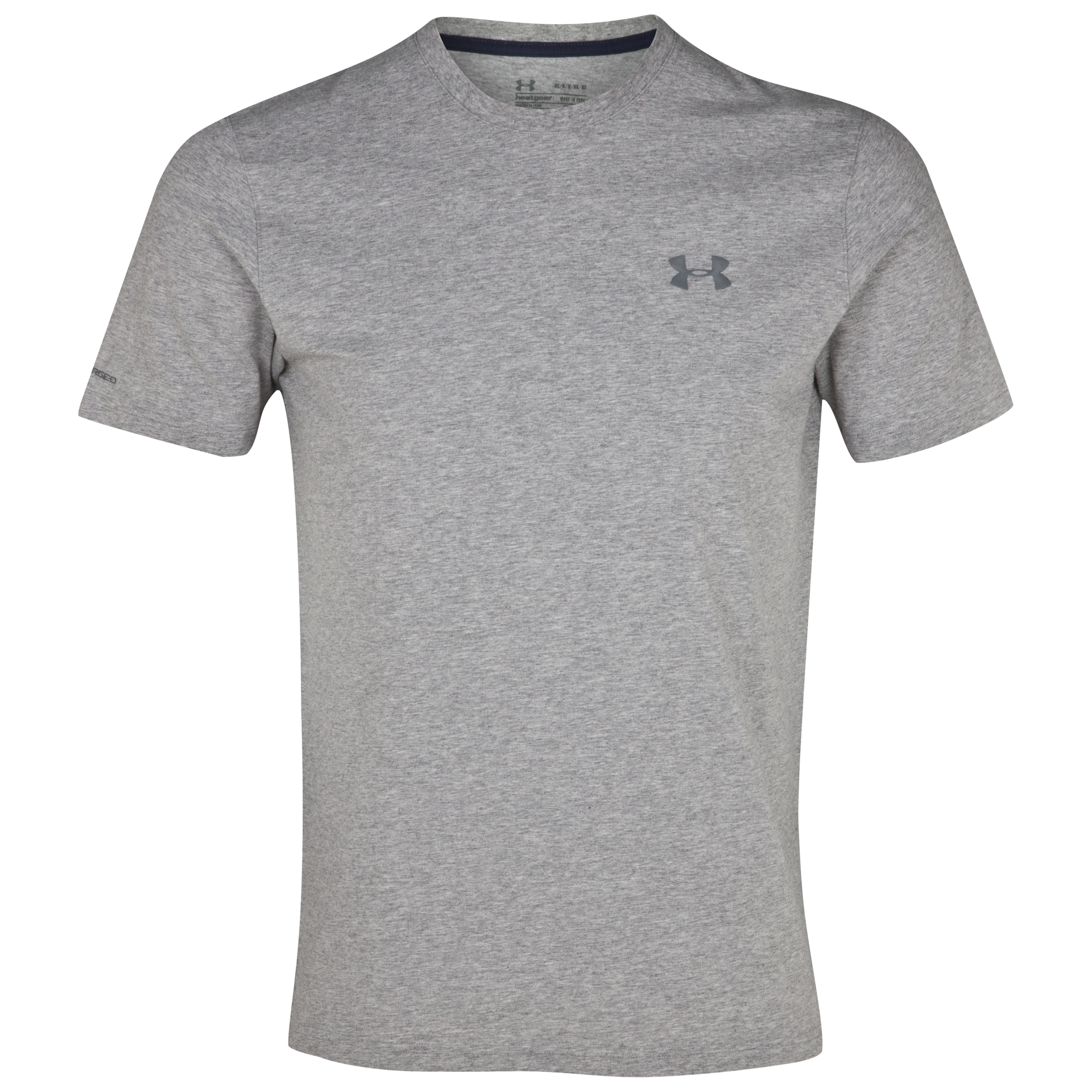 Under Armour Charged Cotton T-Shirt - True Grey Heather/Graphite