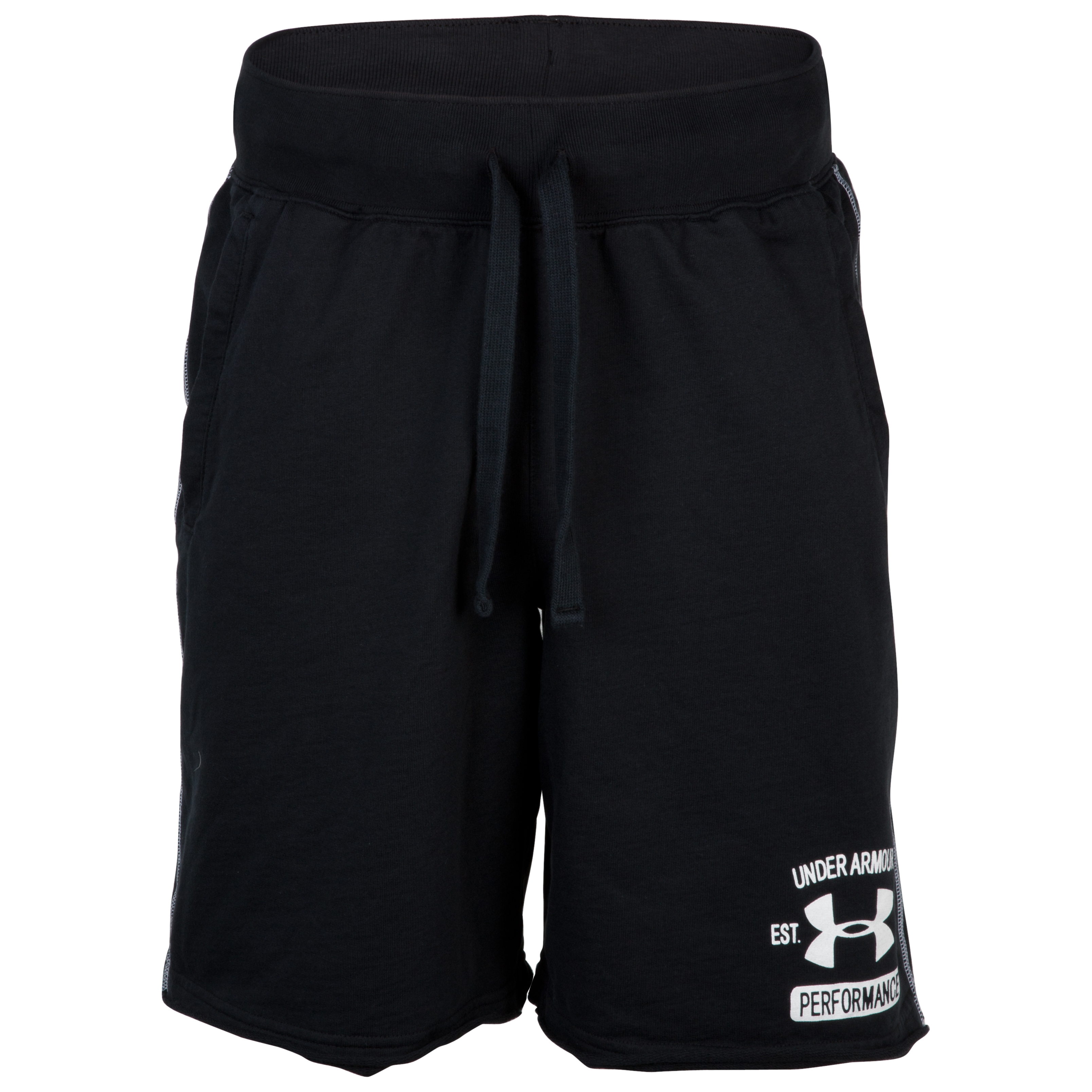 Under Armour Charged Cotton Shorts - Black