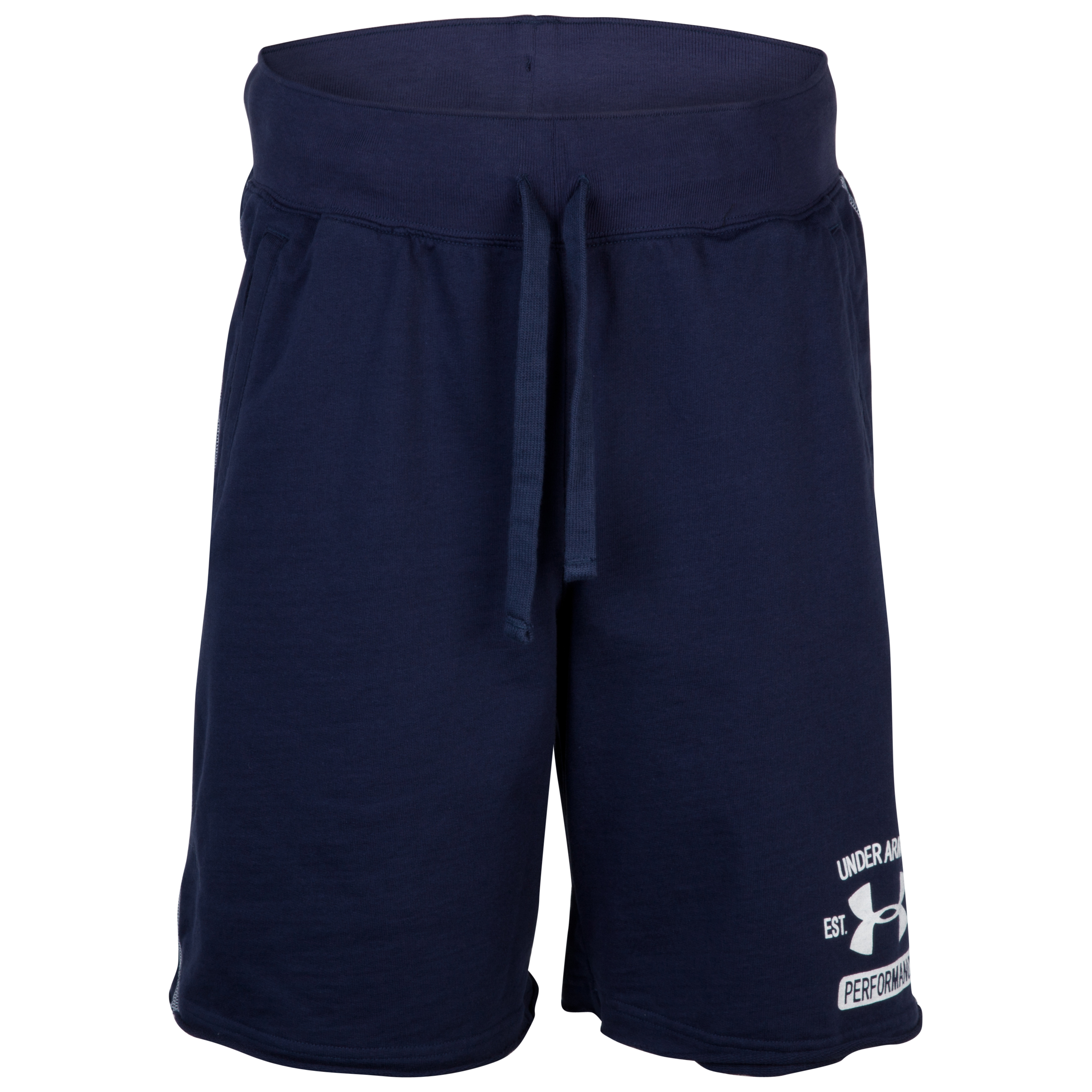 Under Armour Charged Cotton Shorts - Midnight Navy