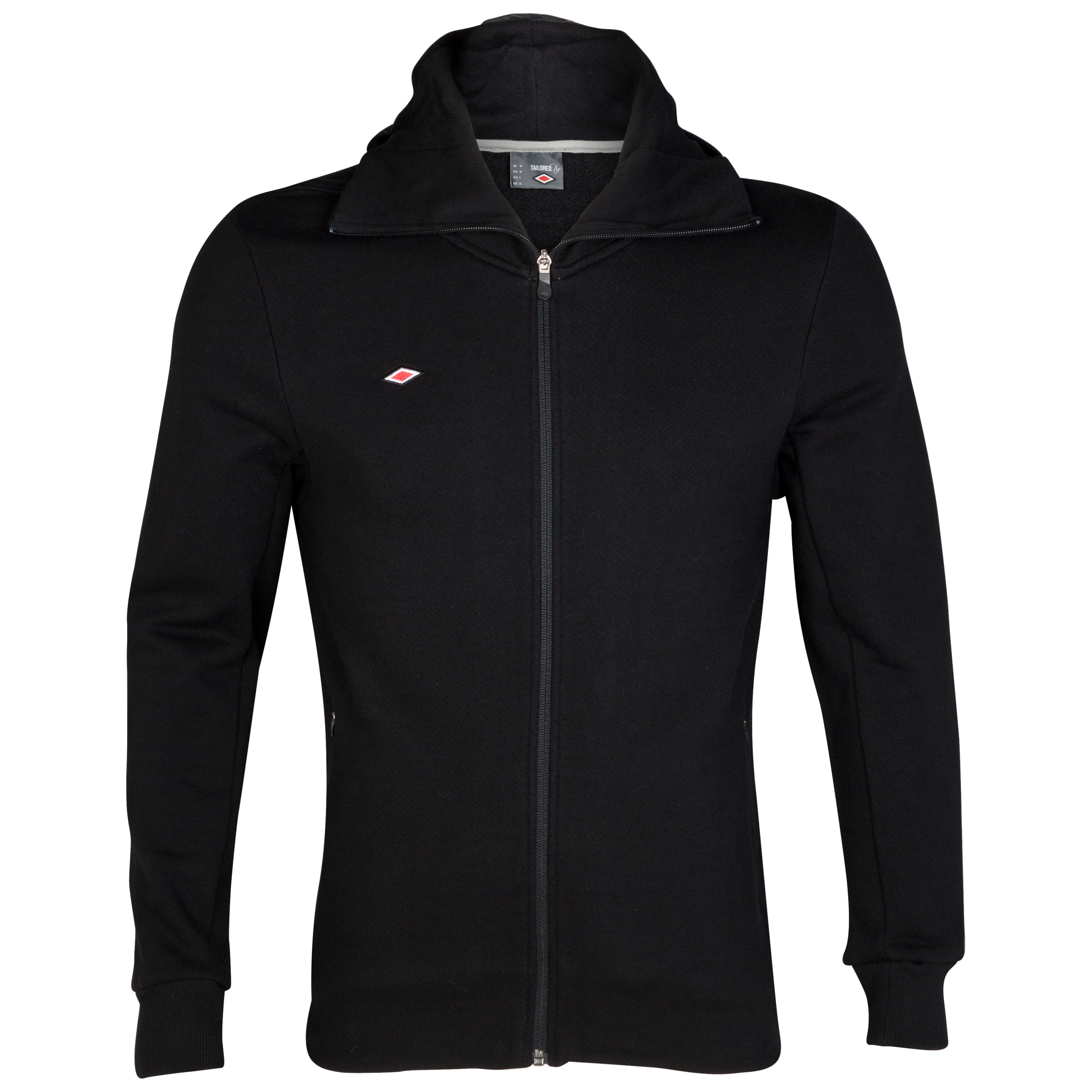 Umbro Full Zip Hooded Sweat - Black