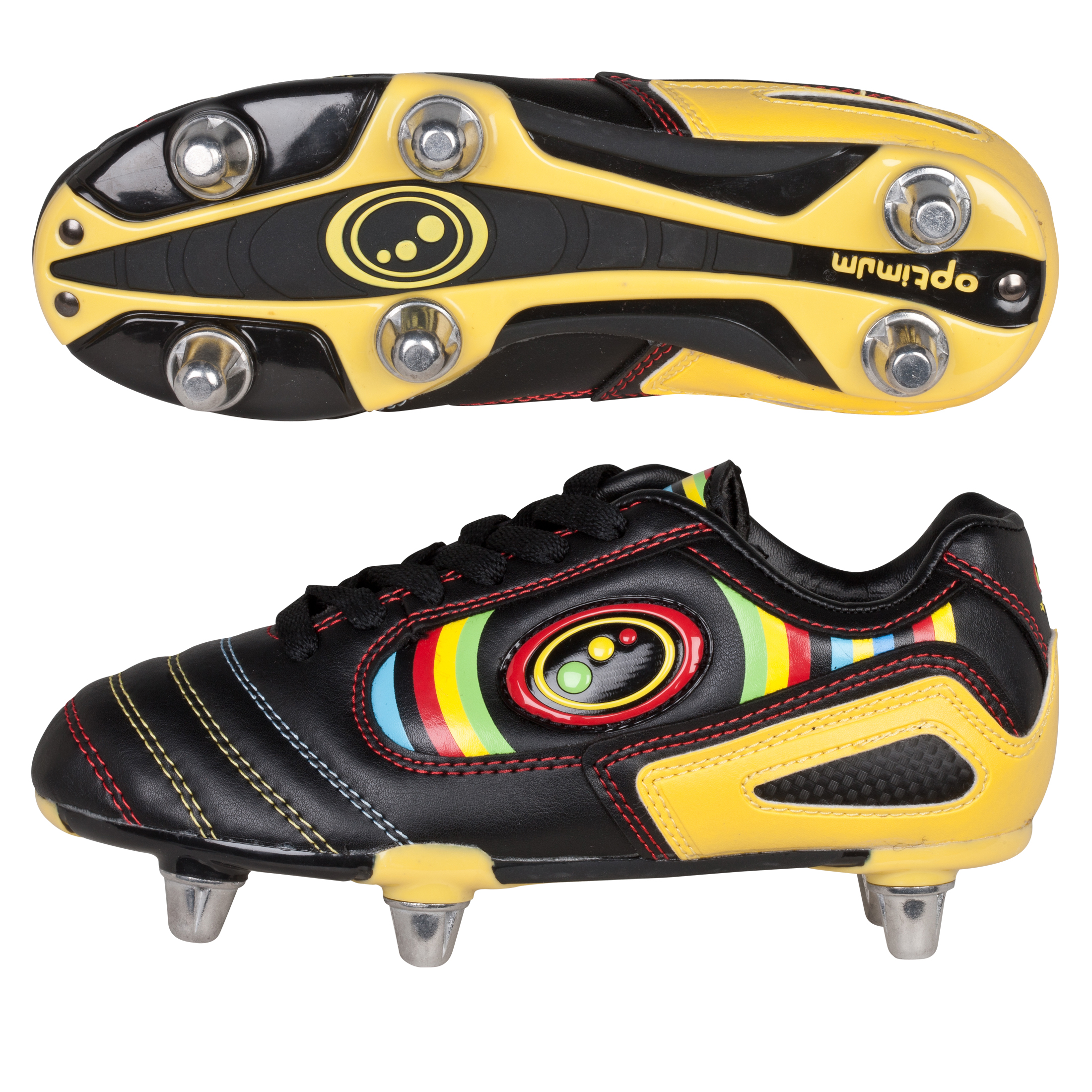 Optimum Shokka Rugby Boots - Shokka/Multicolour - Kids