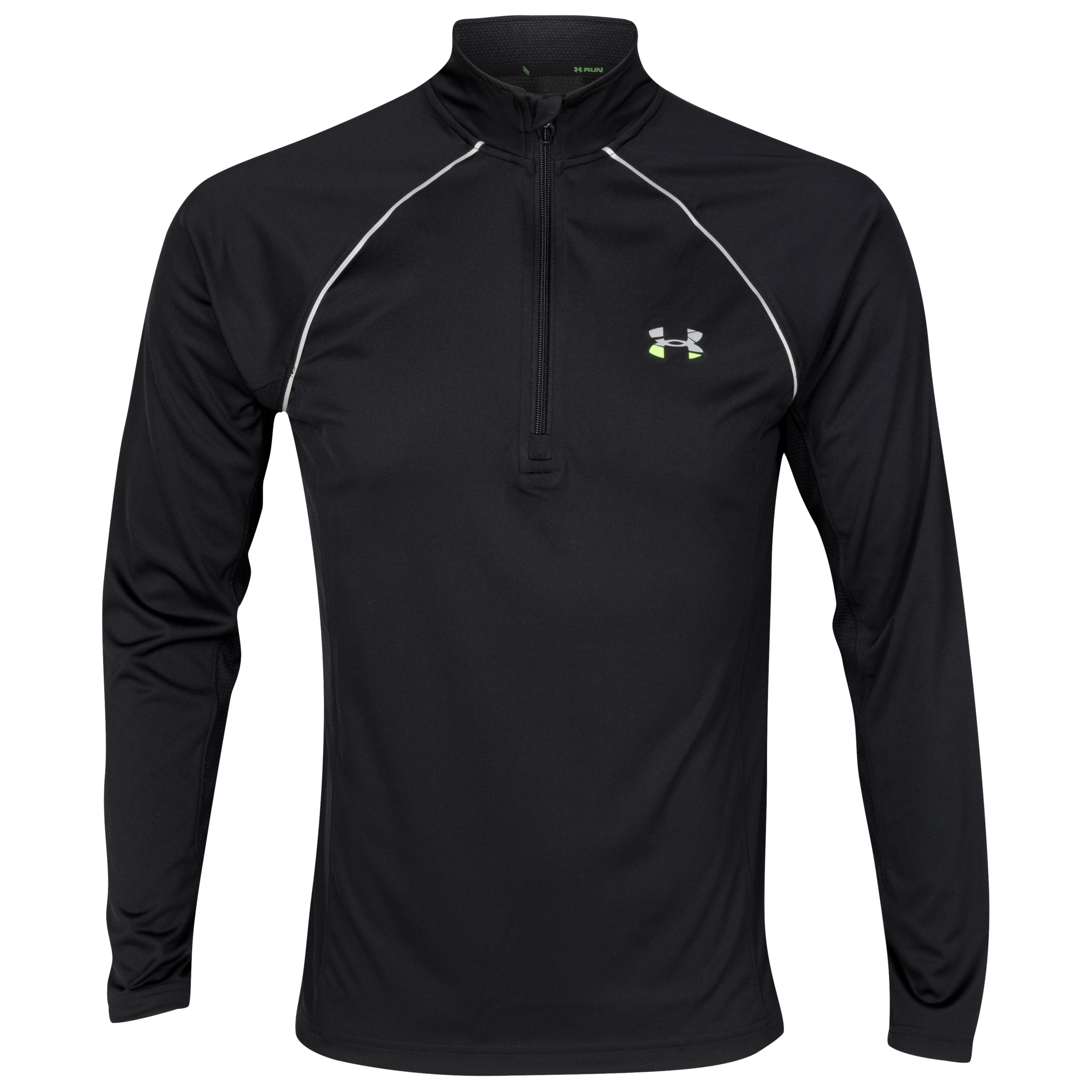 Under Armour Run 1/4 Zip Top - Black