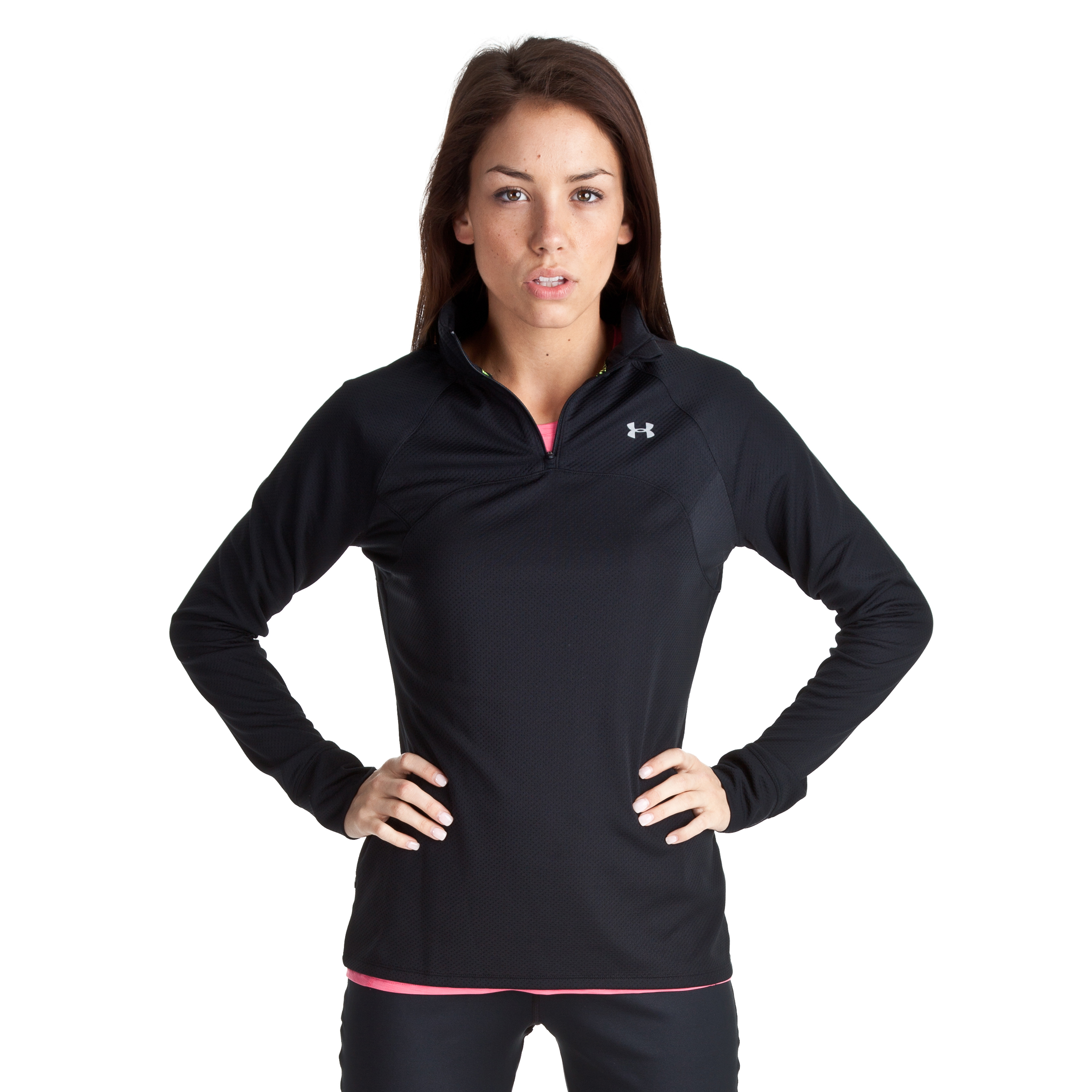 Under Armour Escape Lightweight 1/4 Zip Top II - Black - Womens