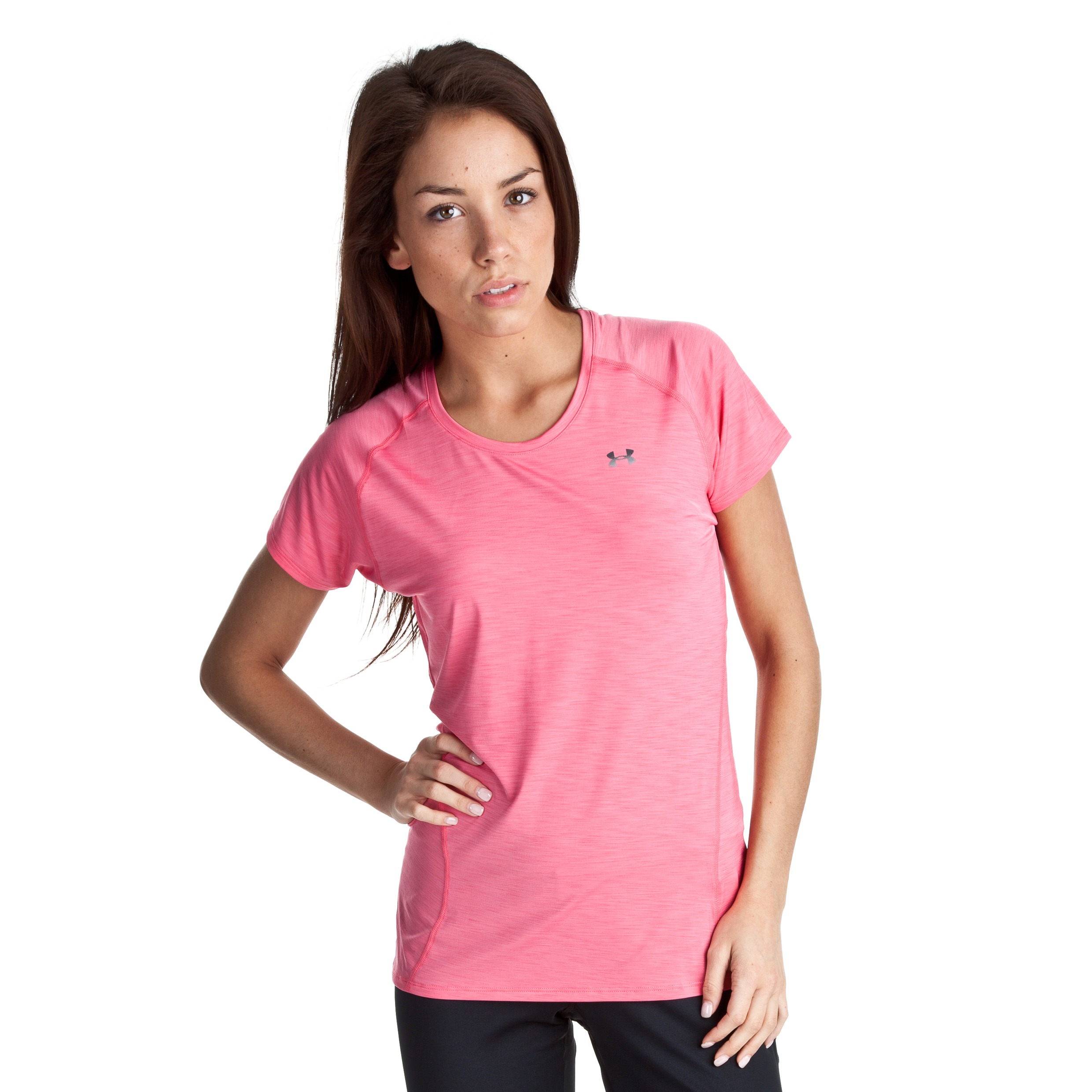 Under Armour Escape Get Started Short Sleeve T-Shirt - ULT/HVY - Womens