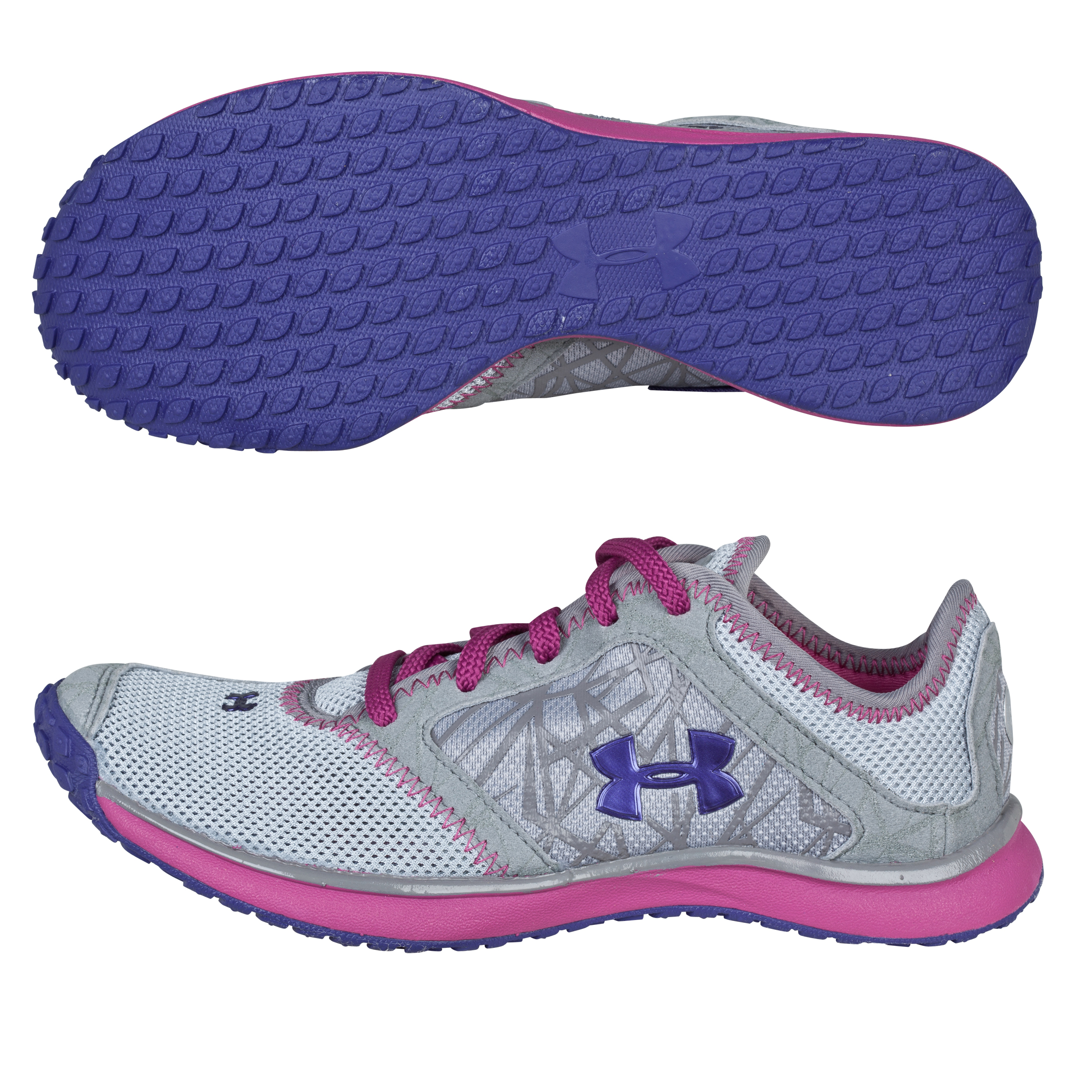 Under Armour Go Trainers - SLV/RSW/PLU