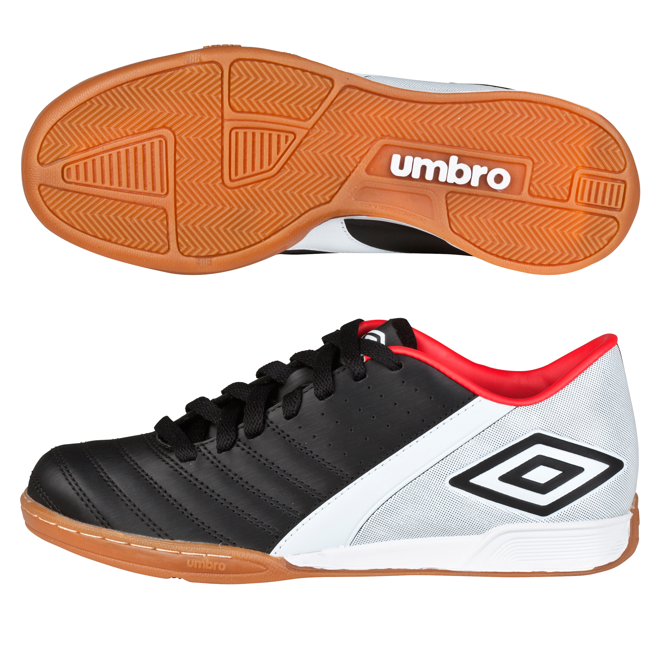 Umbro Extremis Trainers - Black/White/True Red - Kids