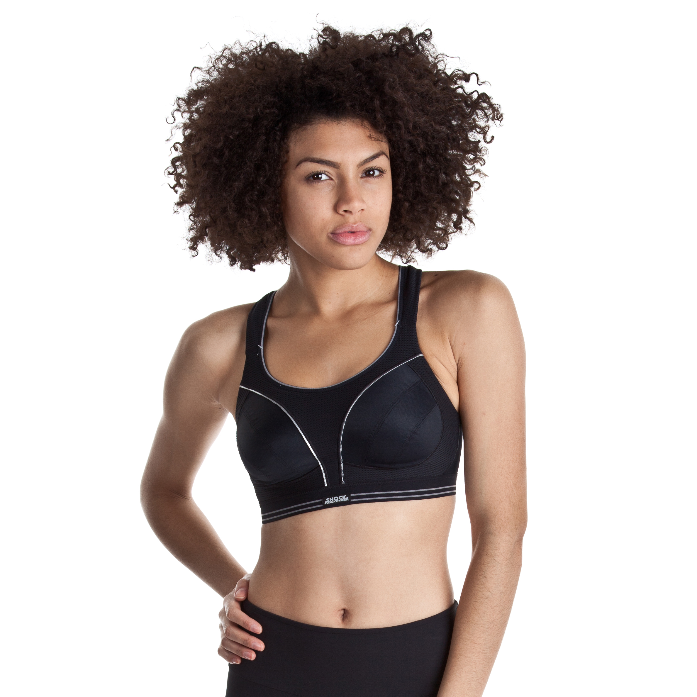 Shock Absorber Ultimate Run Bra - Black
