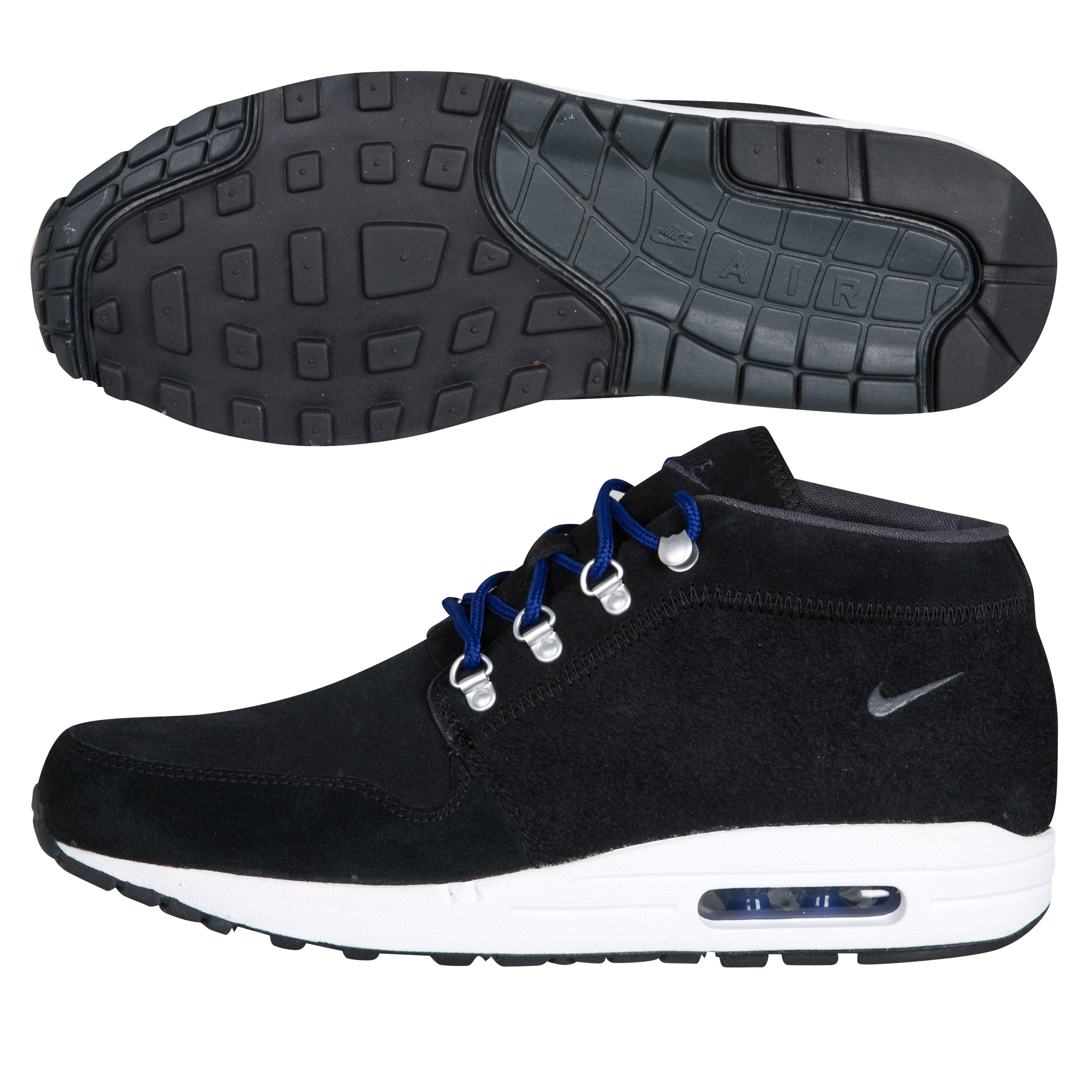 Nike Wardour Max 1 Trainers - Black/Anthracite/White/Deep Royal