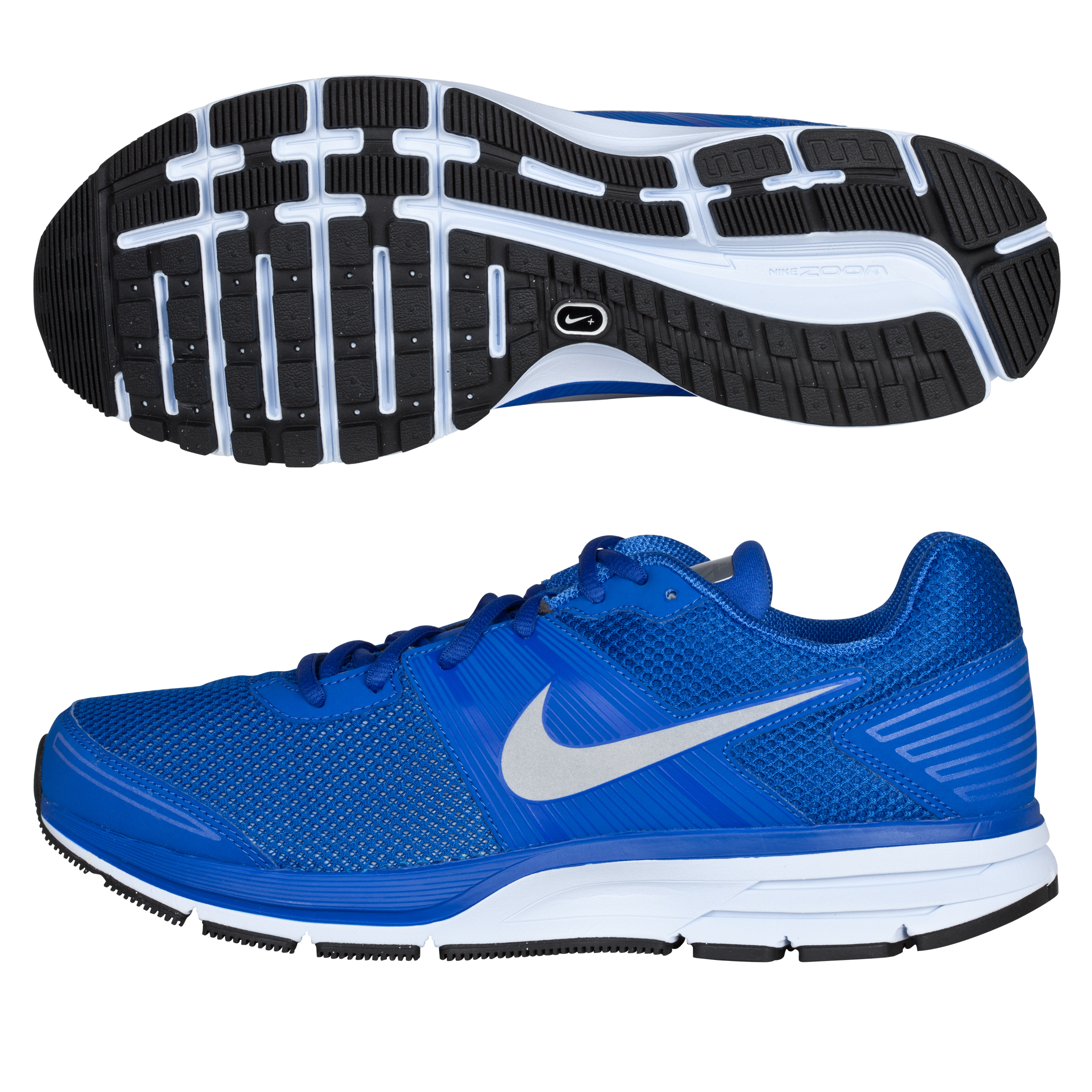 Nike Air Pegasus(+) 29 Shield Trainers - Royal/Reflective Silver