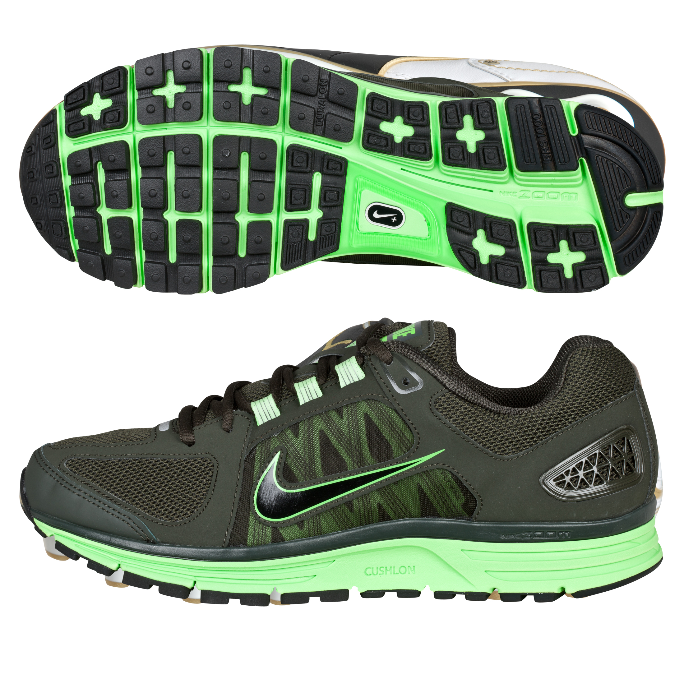 Nike Zoom Vomero(+) 7 Trainers - Black/Electric Green