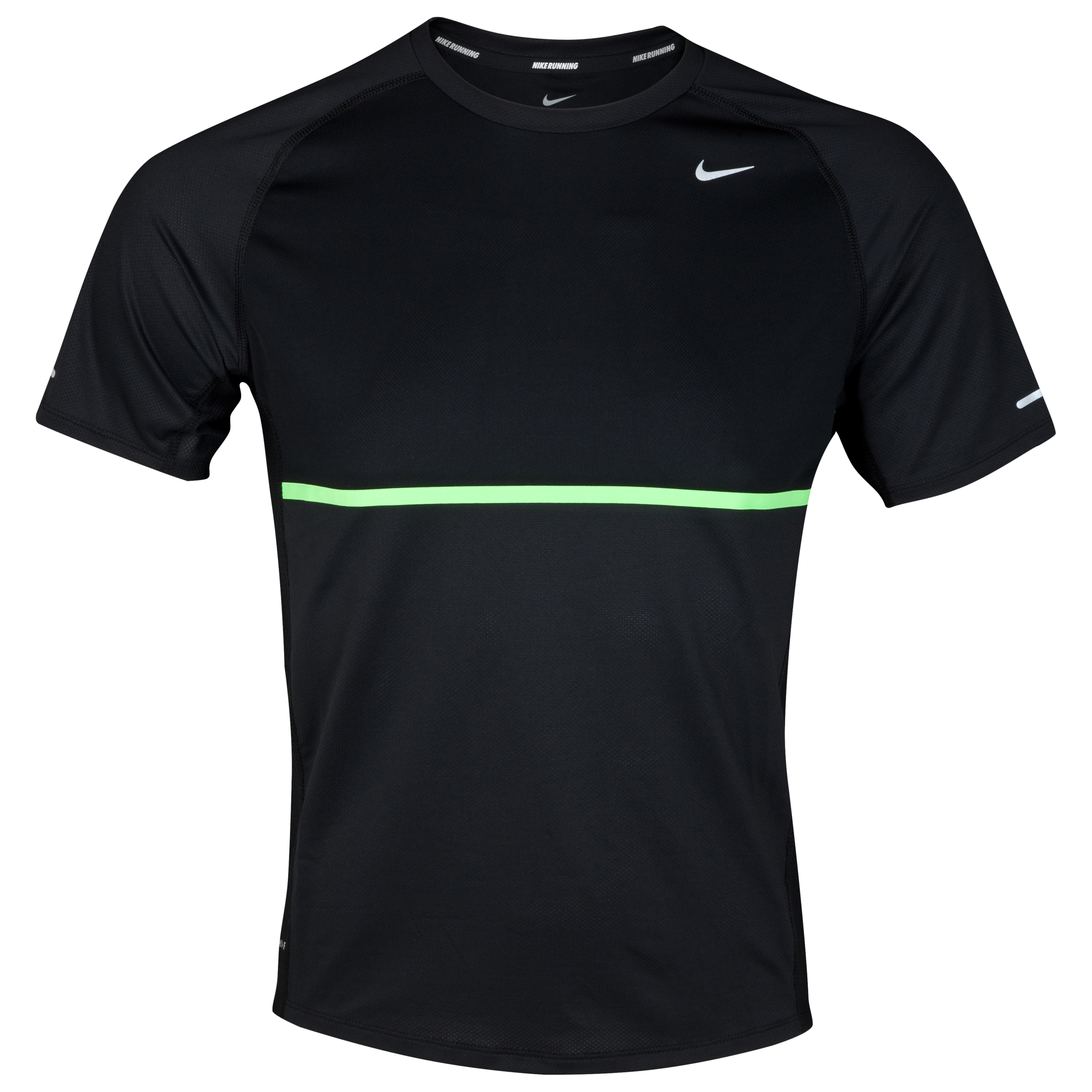 Nike Sphere T-Shirt - Black/Reflective Silver