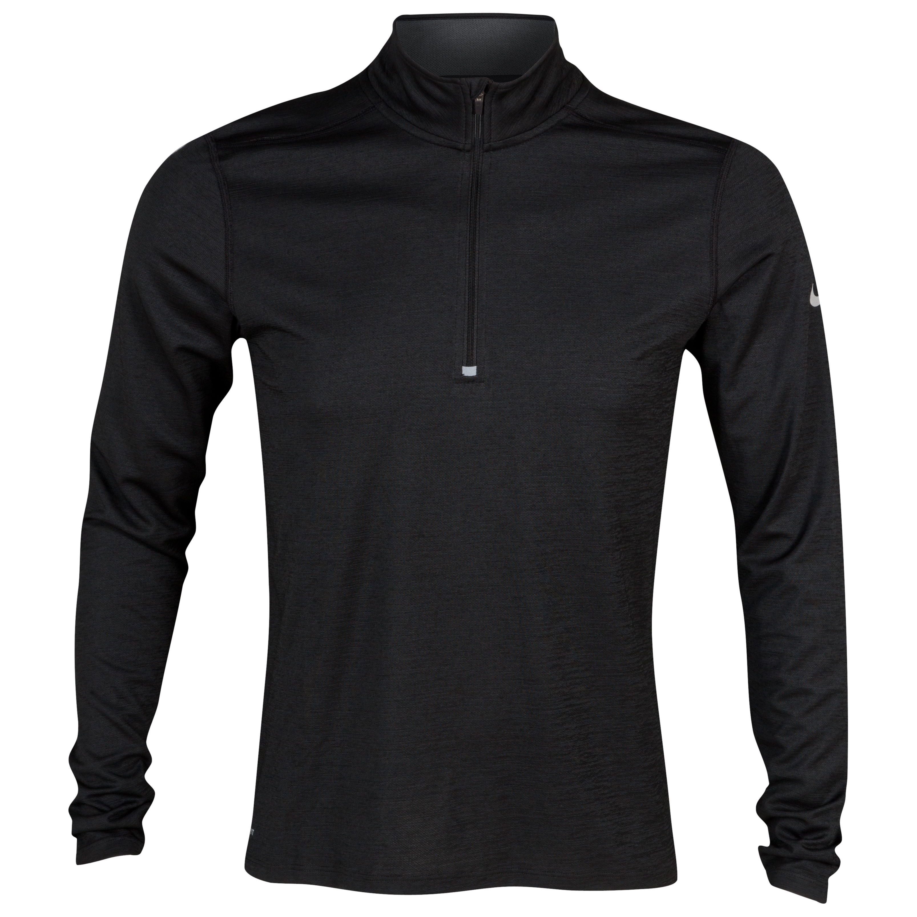 Nike Wool 1/2 Zip Top - Black/Anthracite/Reflective Silver