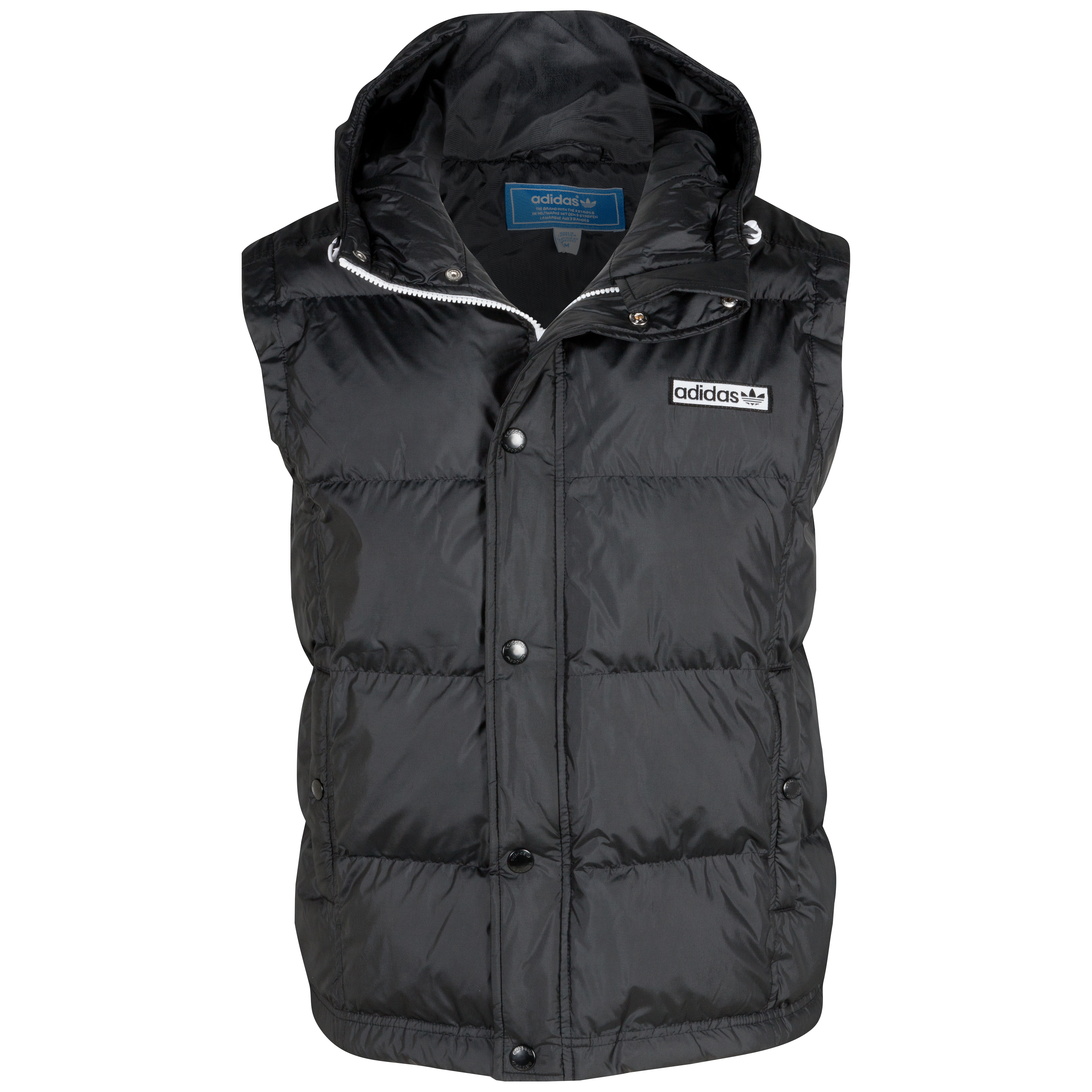 Originals Hooded Gilet - Black