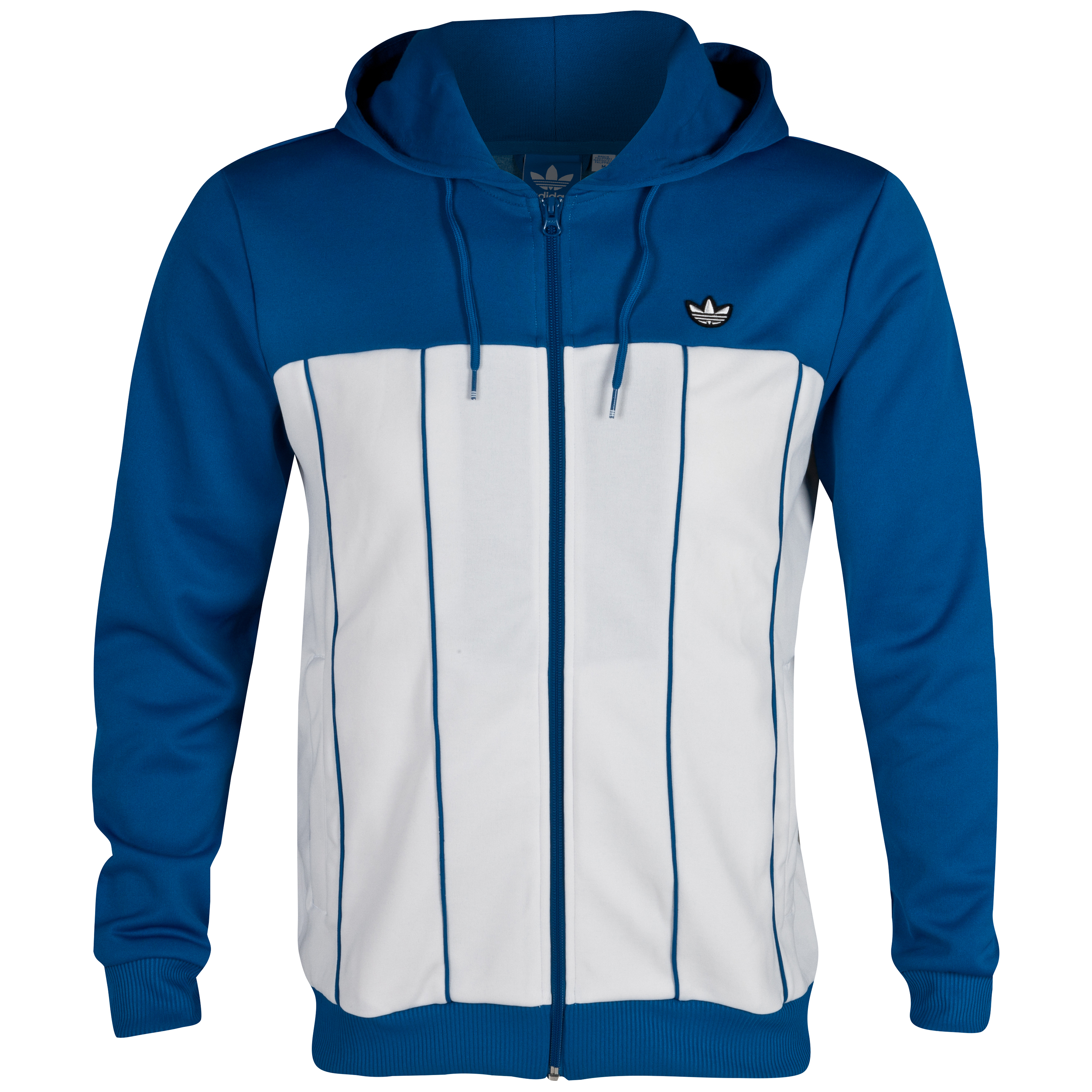 Originals Vintage Pinstripe Hood Track Top - Dark Royal /White Vapour
