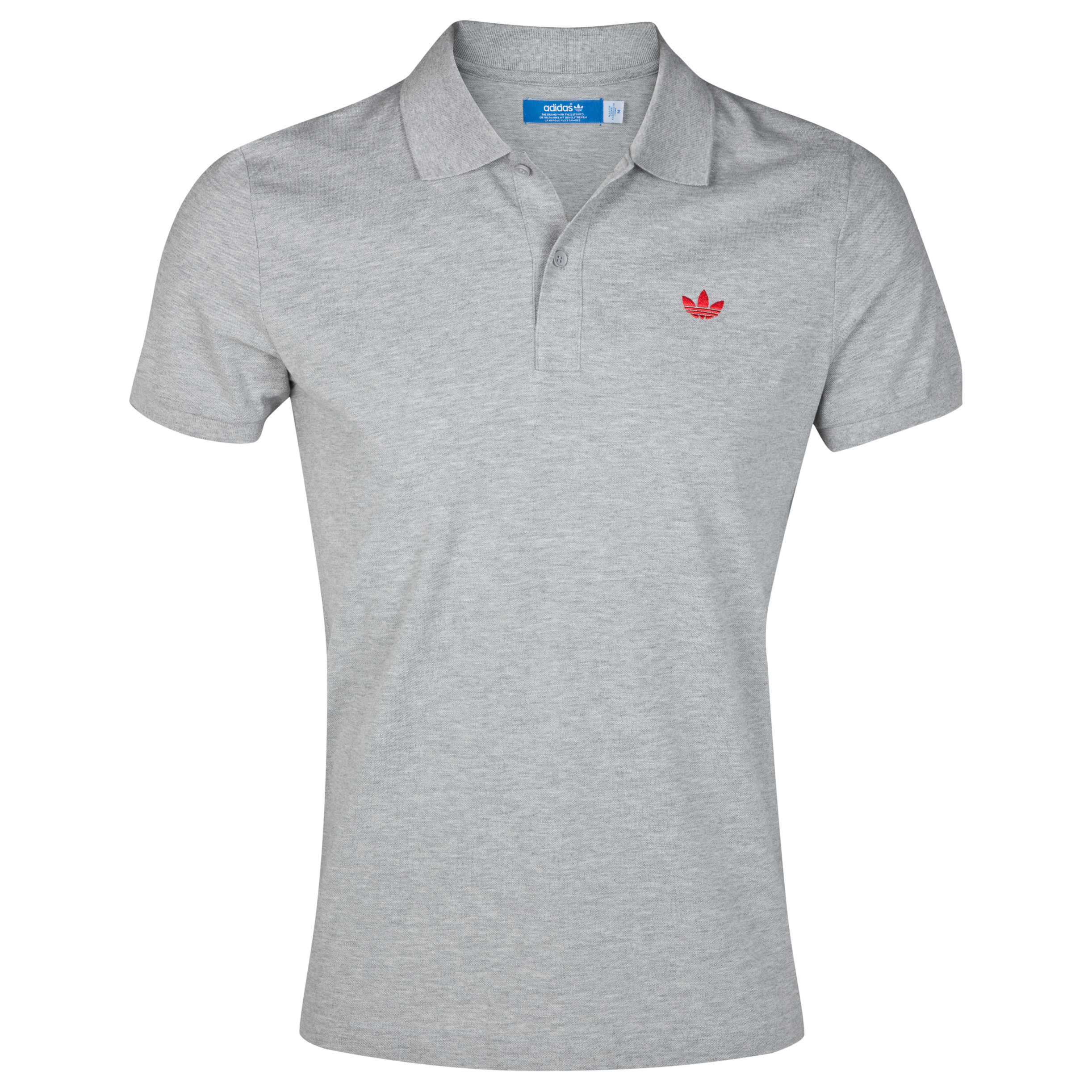 Originals Pique Polo - Medium Grey Heather