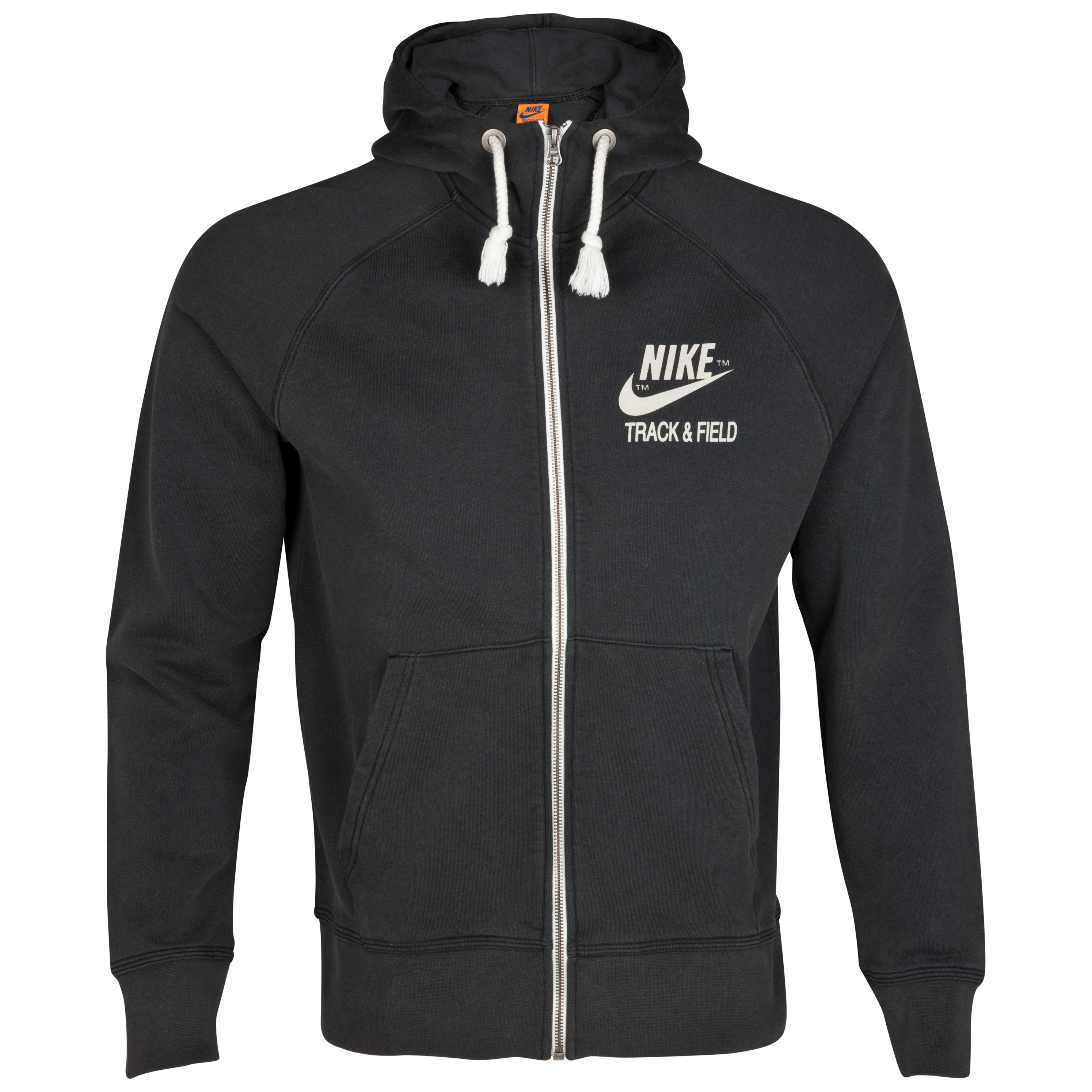 Nike NTandF Graphic AW77 Full Zip Hoody - Black/Sail
