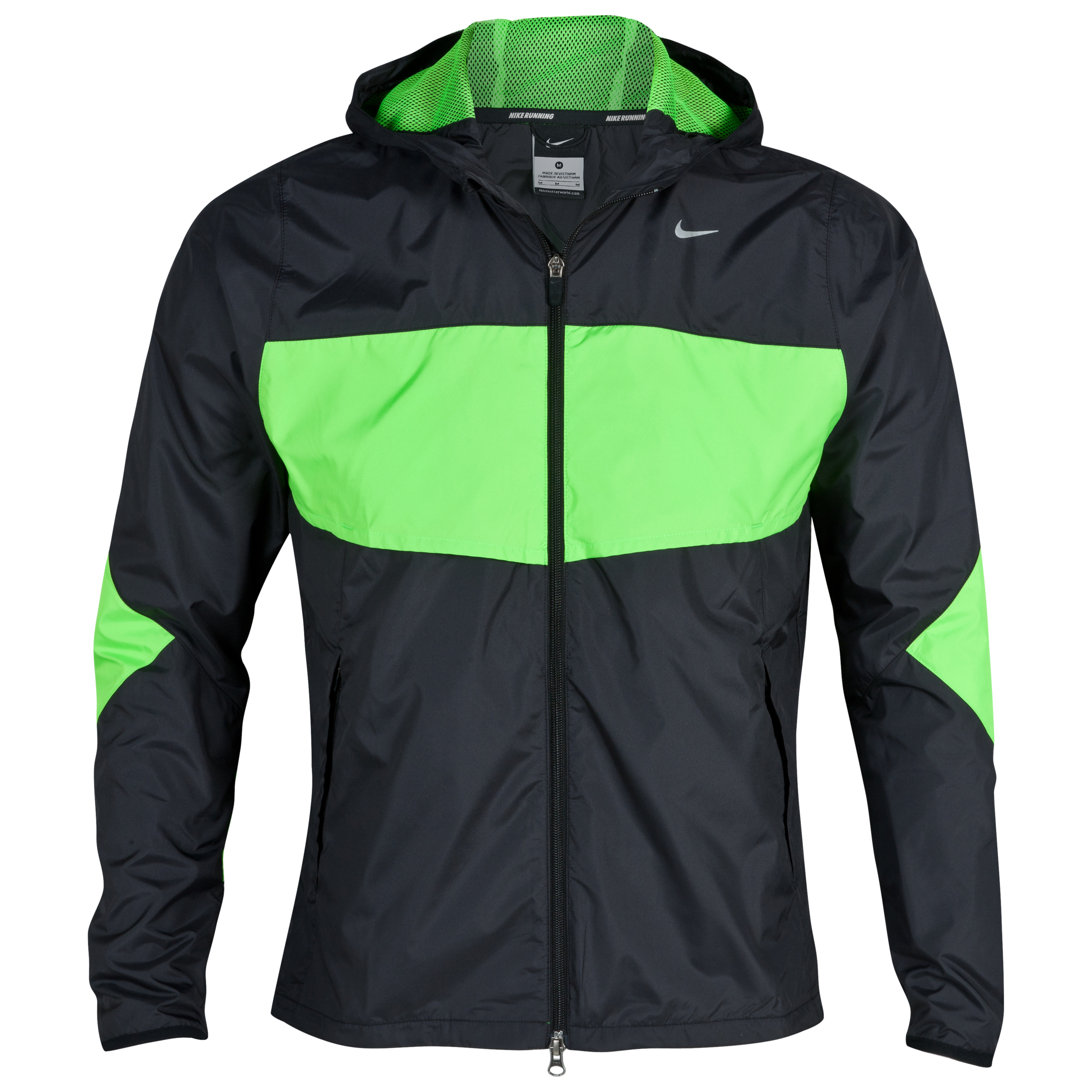 Nike Vapor Lite Jacket - Black/Electric Green/Reflective Silver