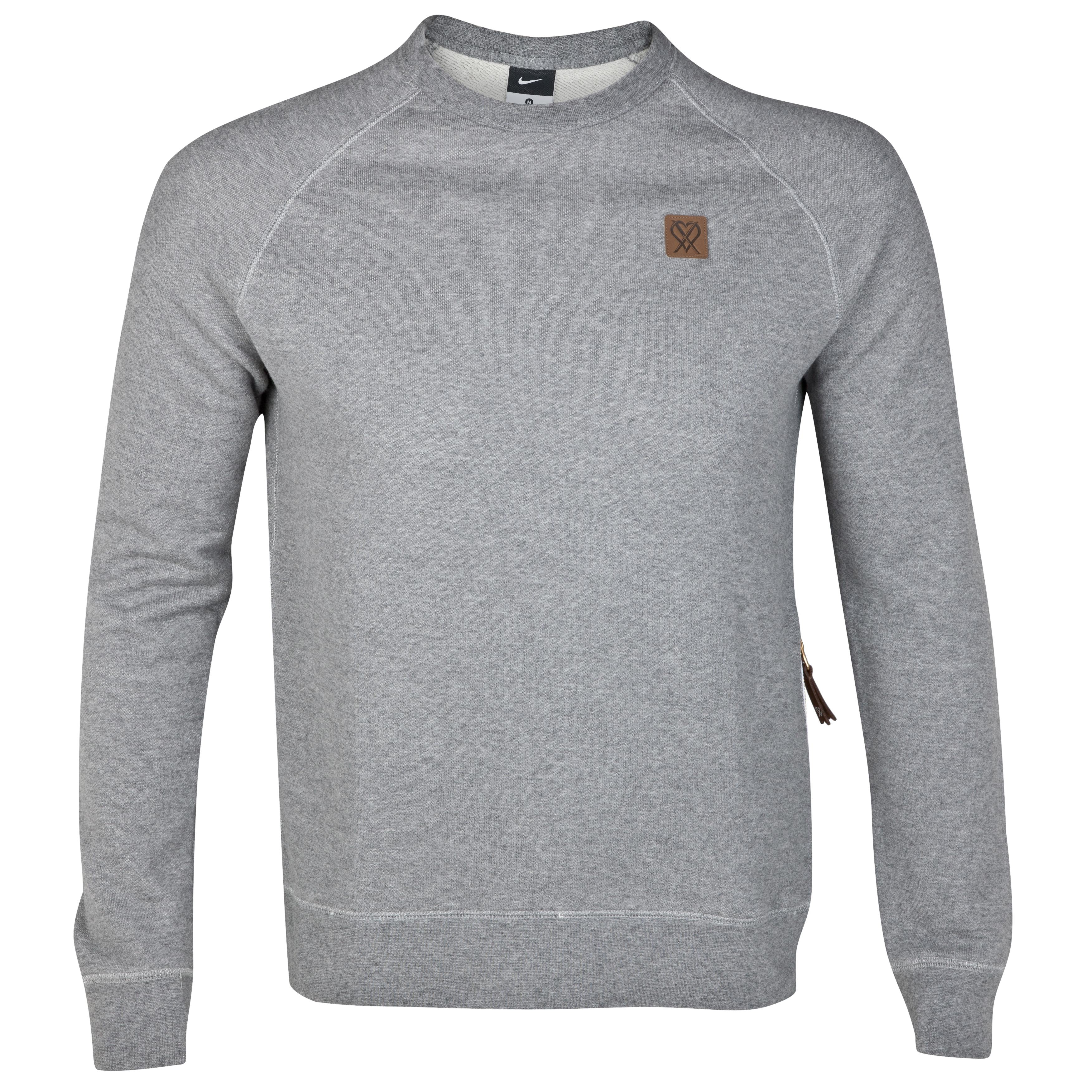 Nike CR Sweatshirt - Carbon Heather