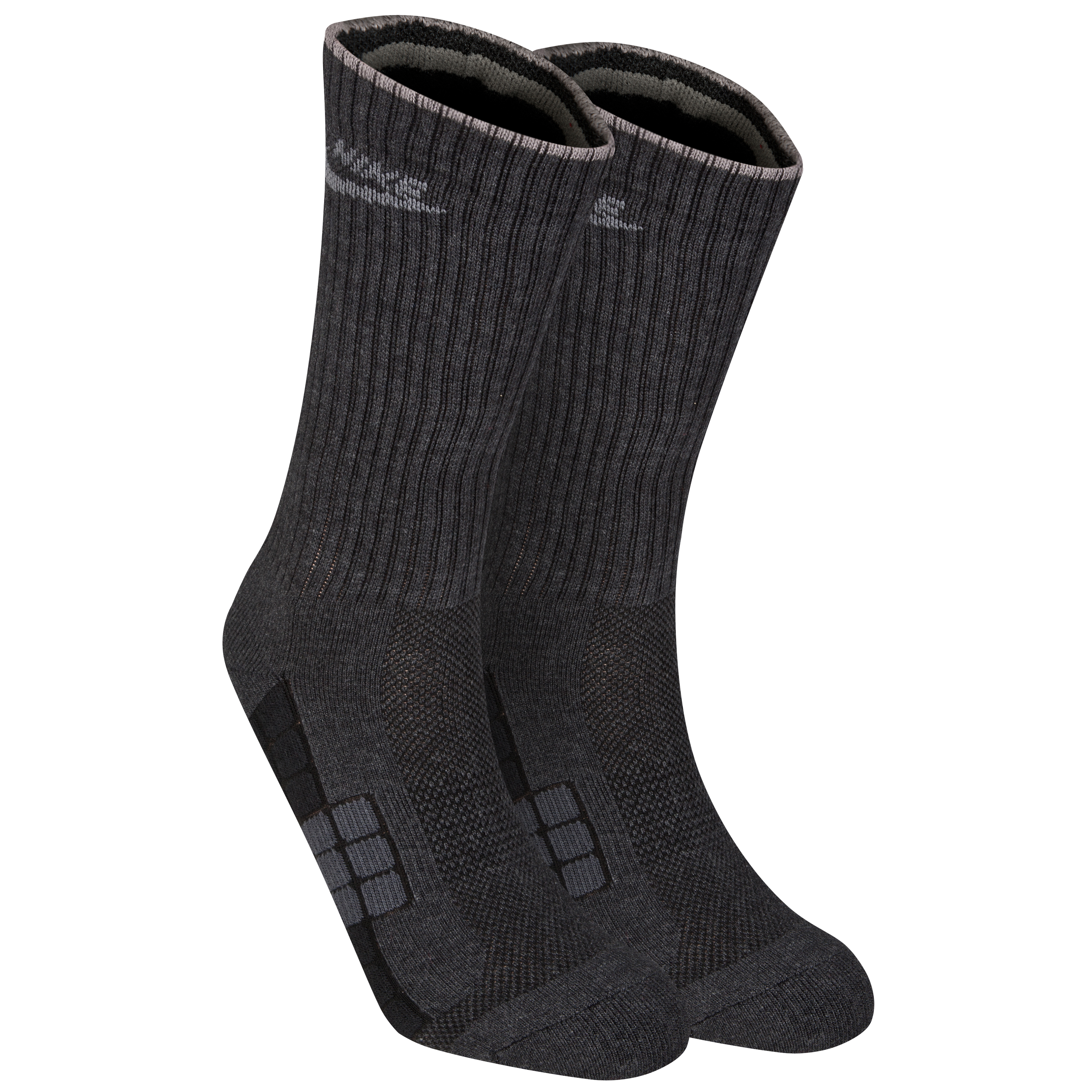 Nike NSW Waffle Crew Socks - Black/Heather/Dark Shadow