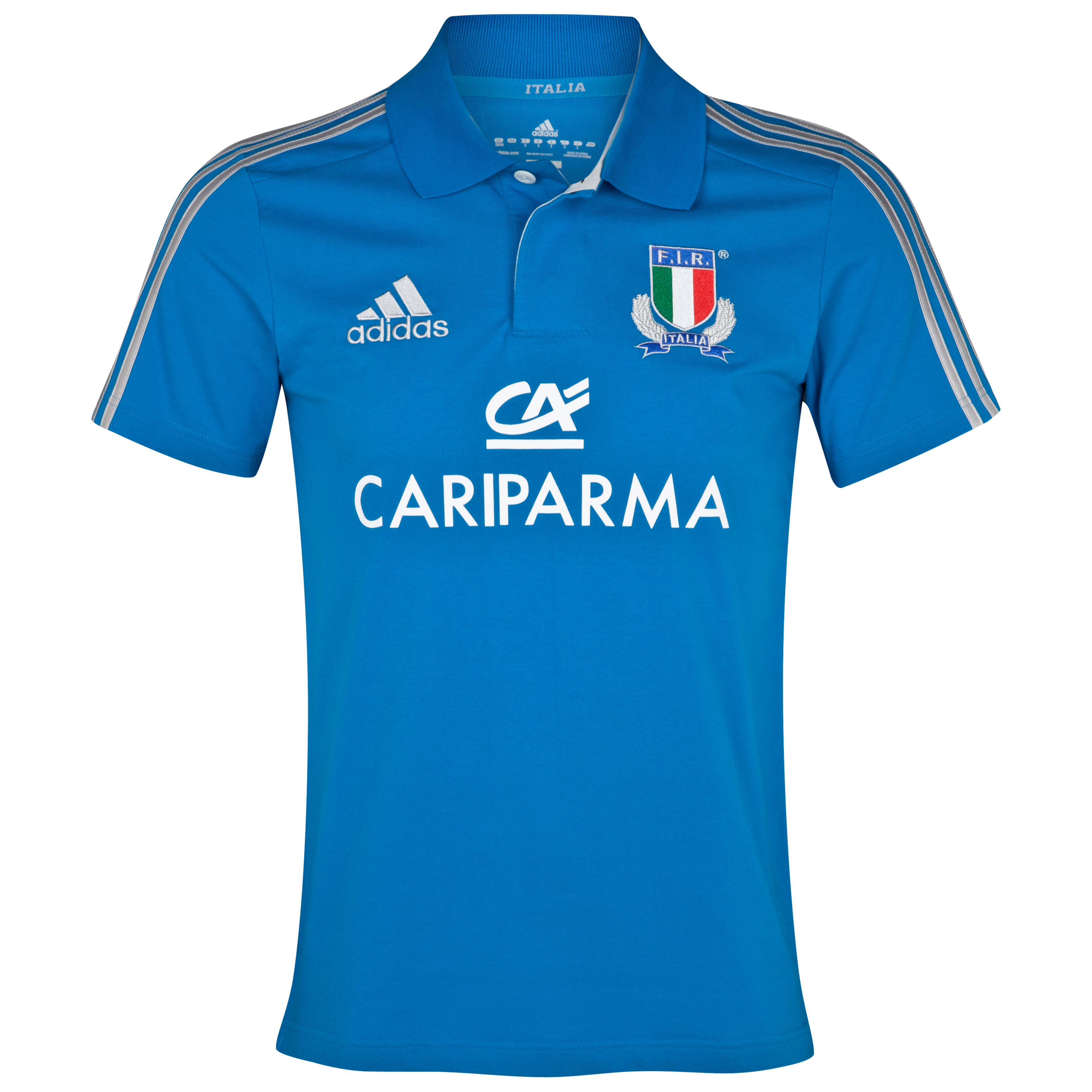 Italy Rugby Polo - Craft Blue/Platinum