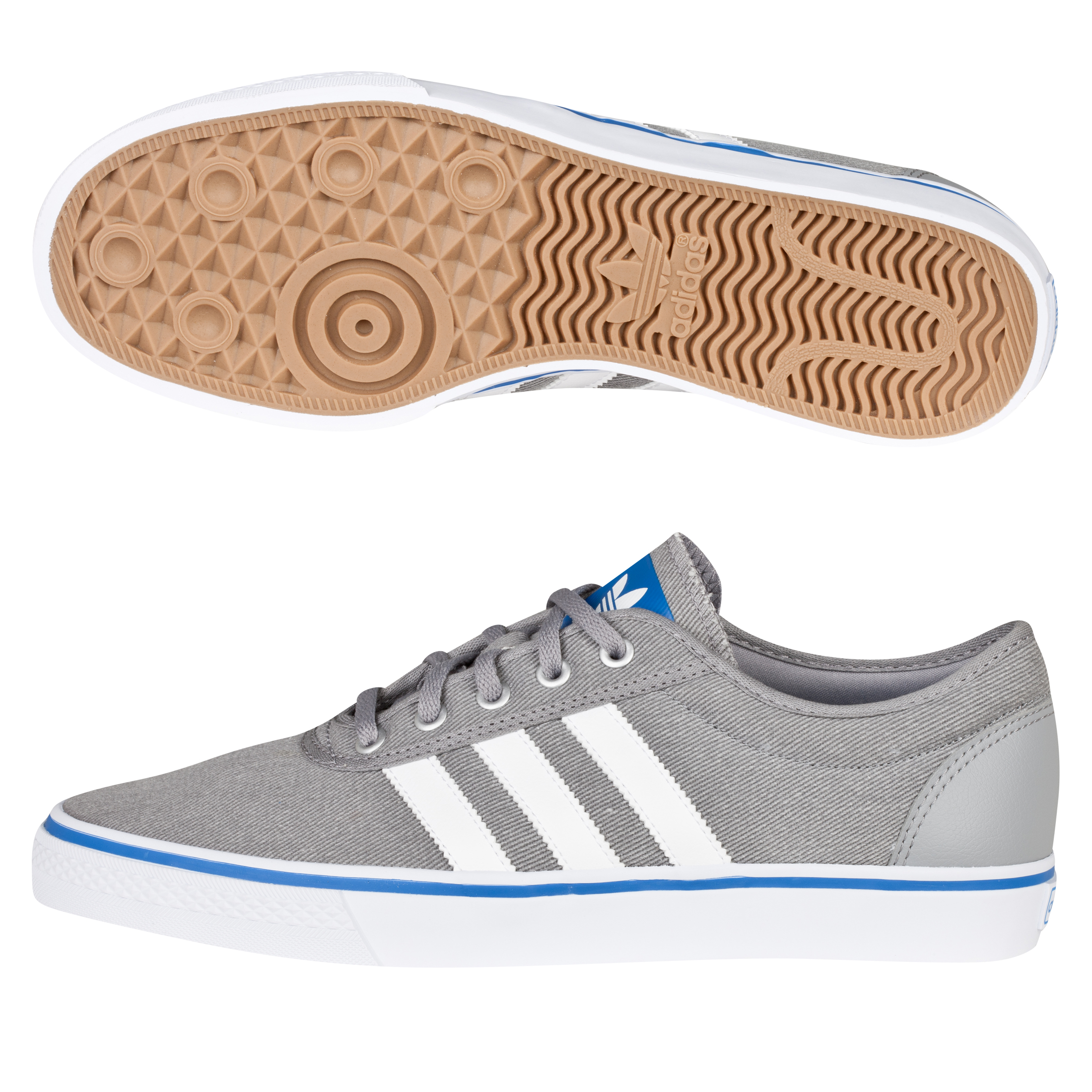 Adidas Originals Adi Ease Trainers - Aluminium/White/Bluebird