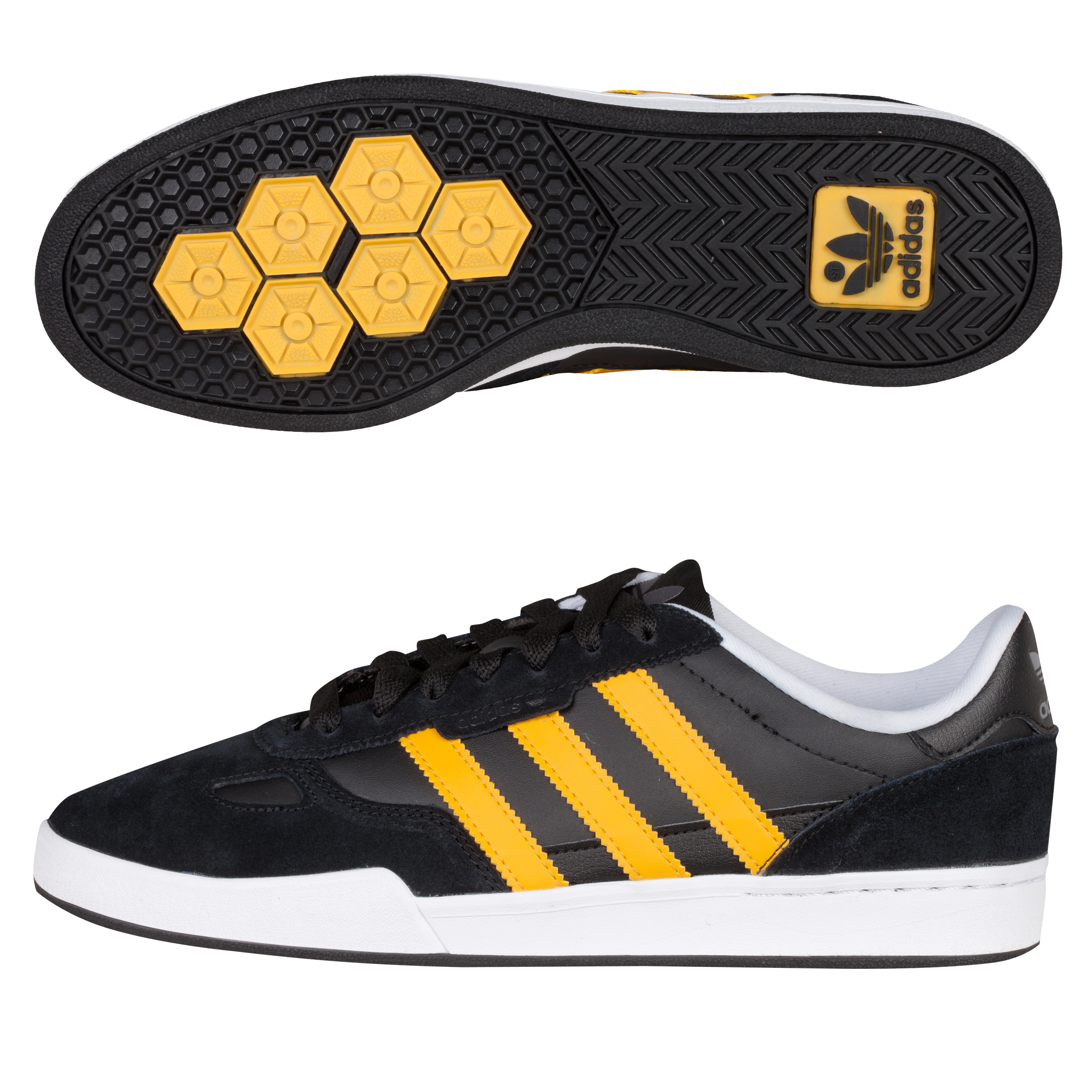 Adidas Originals Ciero Update Trainers - Black/Craft Gold/White
