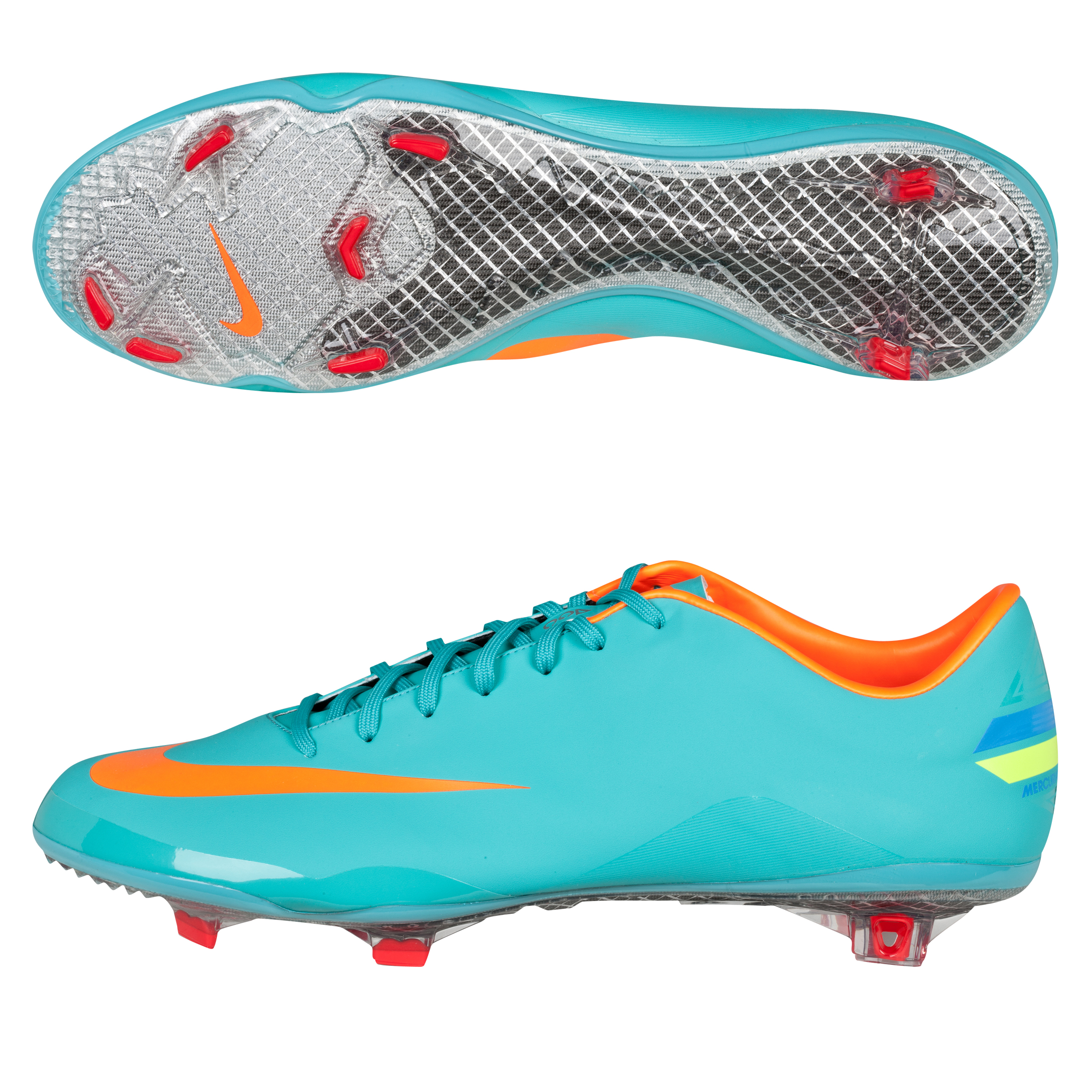 Nike Mercurial Vapor VIII Firm Ground Football Boots - Retro/Total Orange/Chilling Red