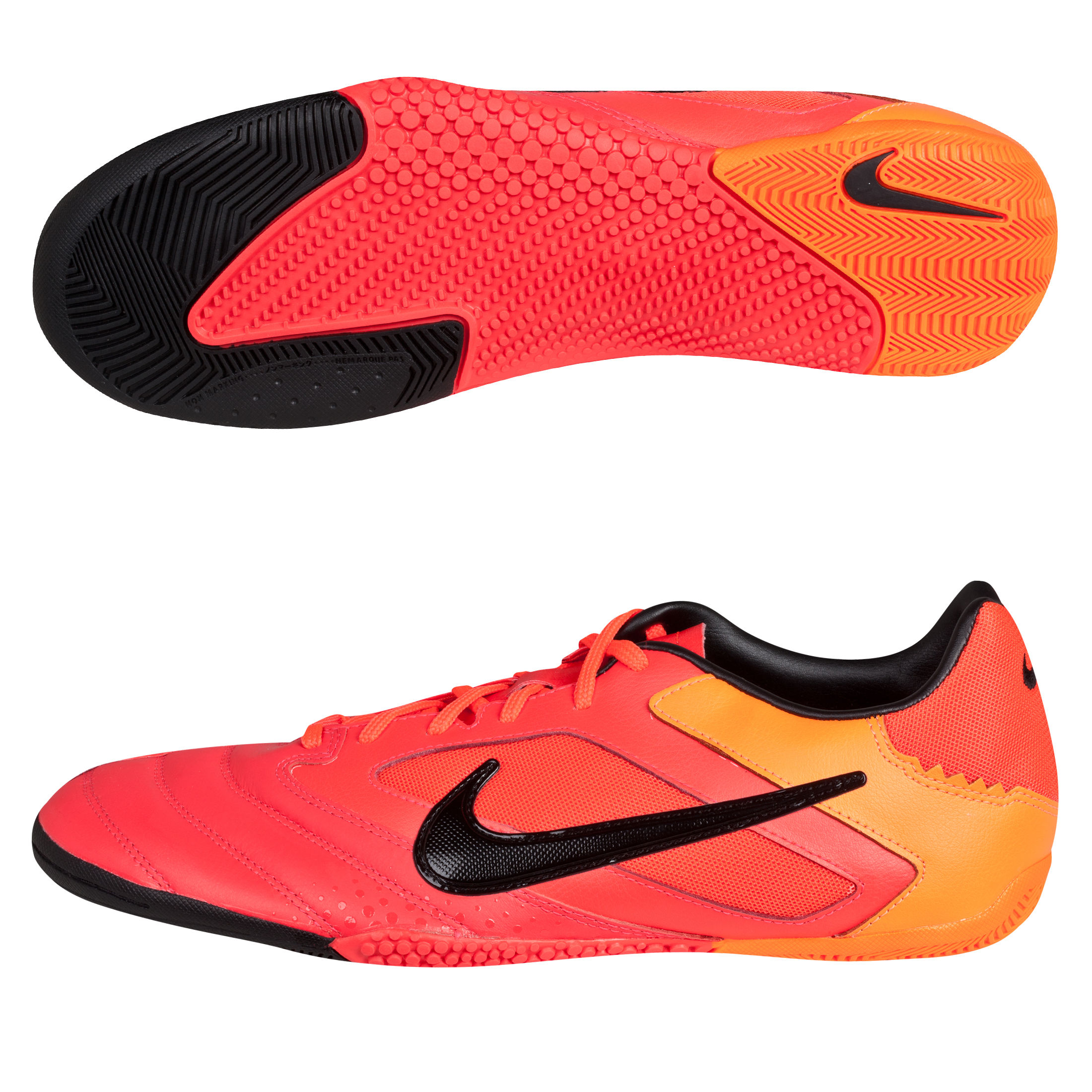Nike5 Elastico Pro Trainers - Bright Crimson/Total Orange/Black