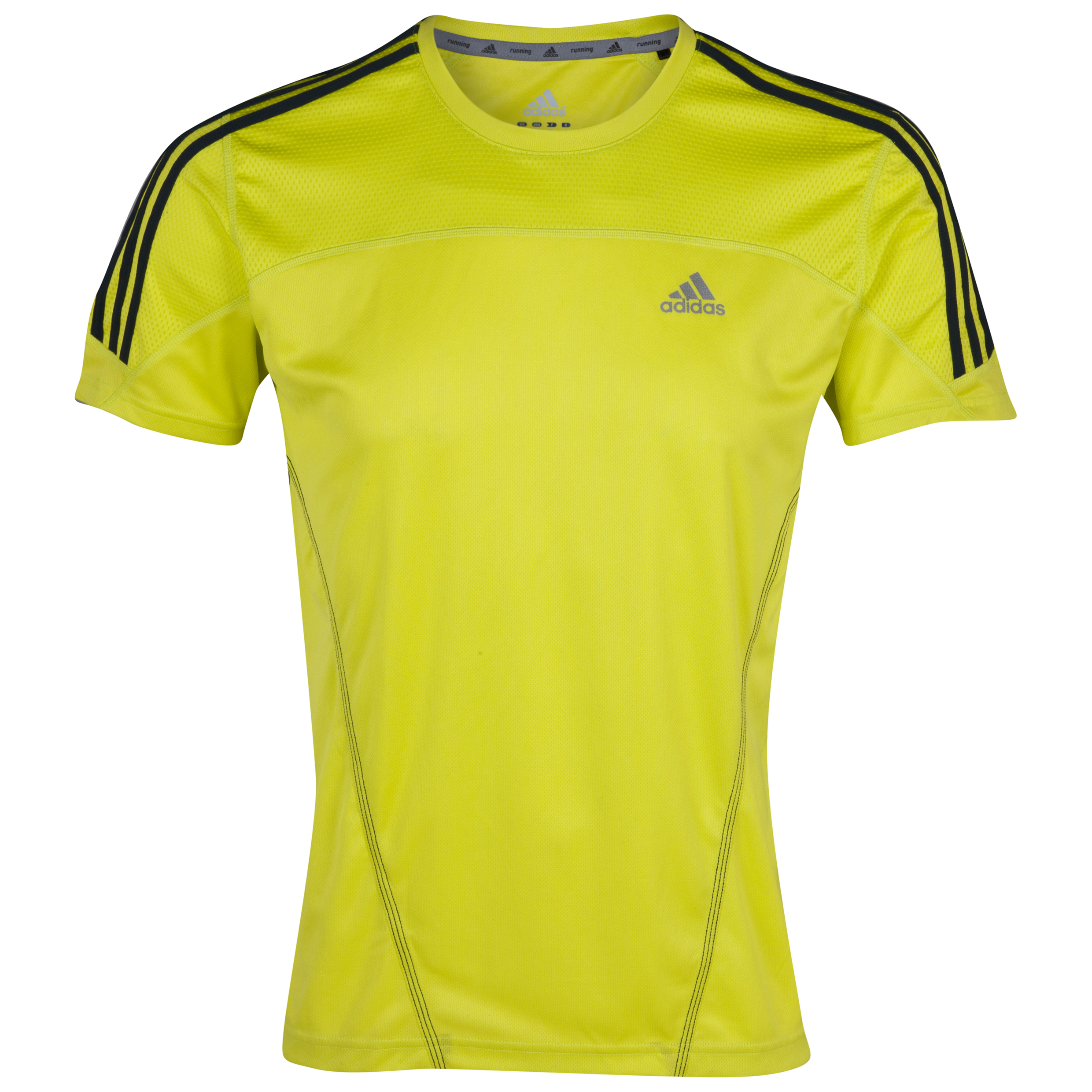 Adidas Response DS T-Shirt - Lab Lime/Tech Onix