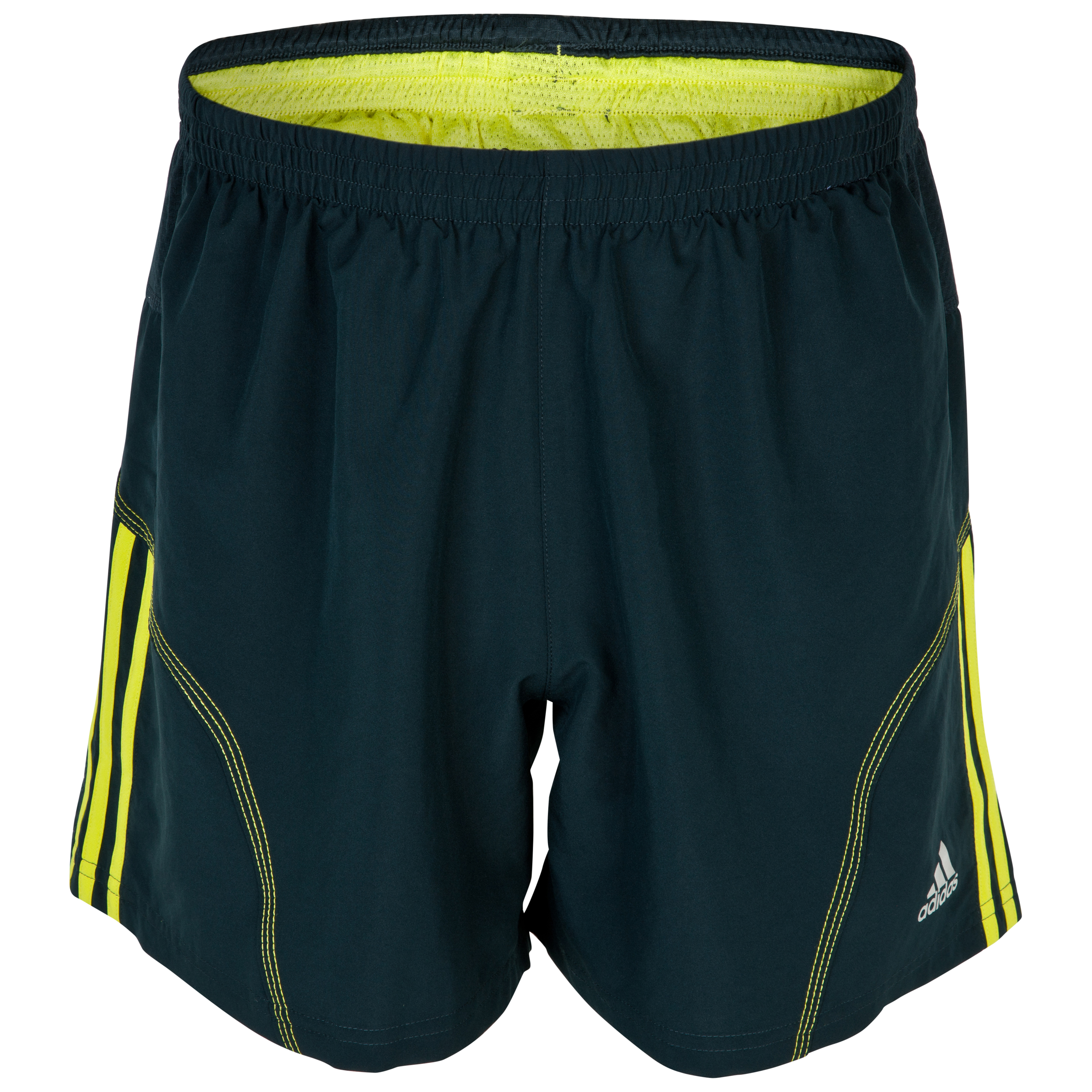 Adidas Response DS 5inch Baggy Shorts - Tech Onix/Lab Lime