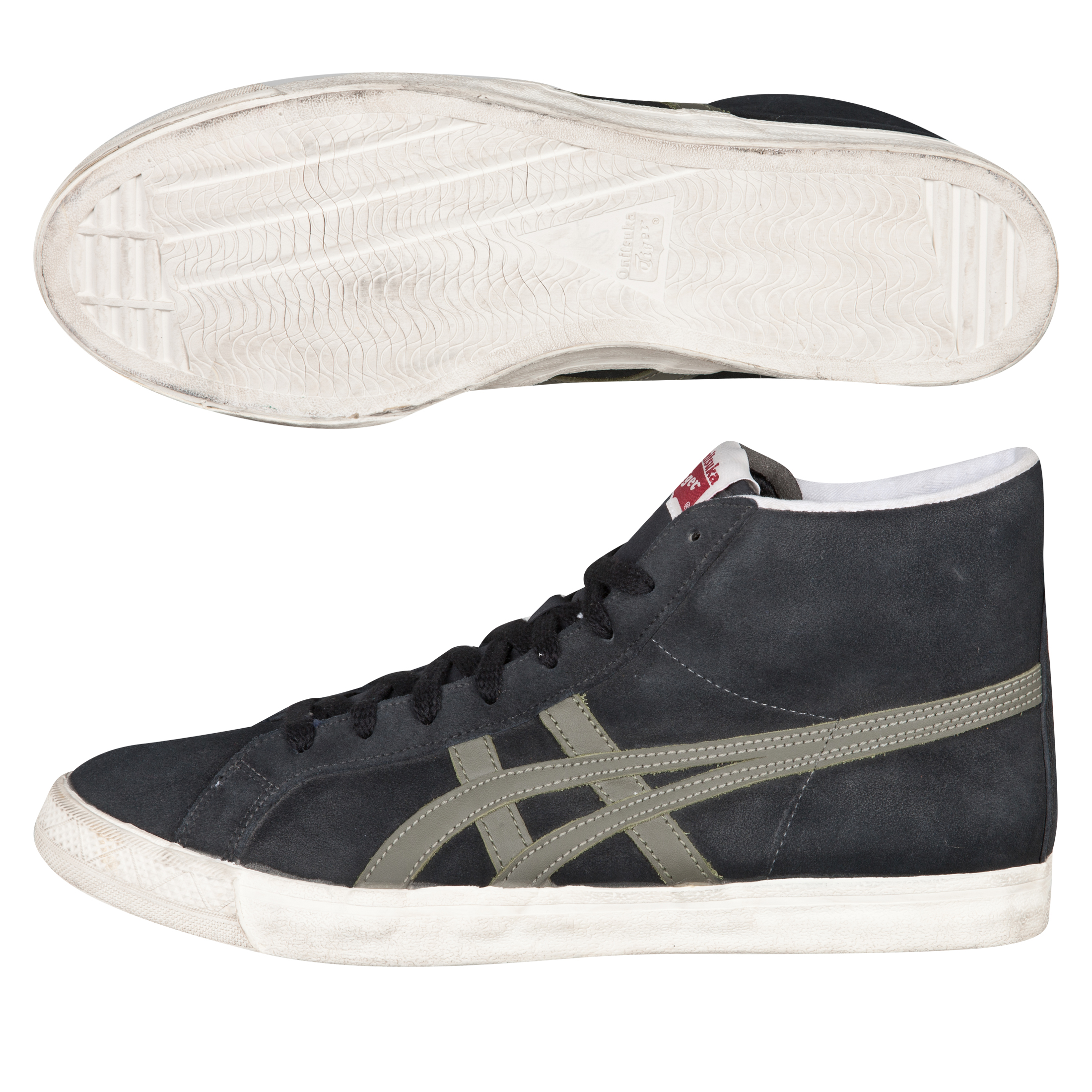 Onitsuka Tiger Fabre BL-L OG Vin Trainers - Black/Olive