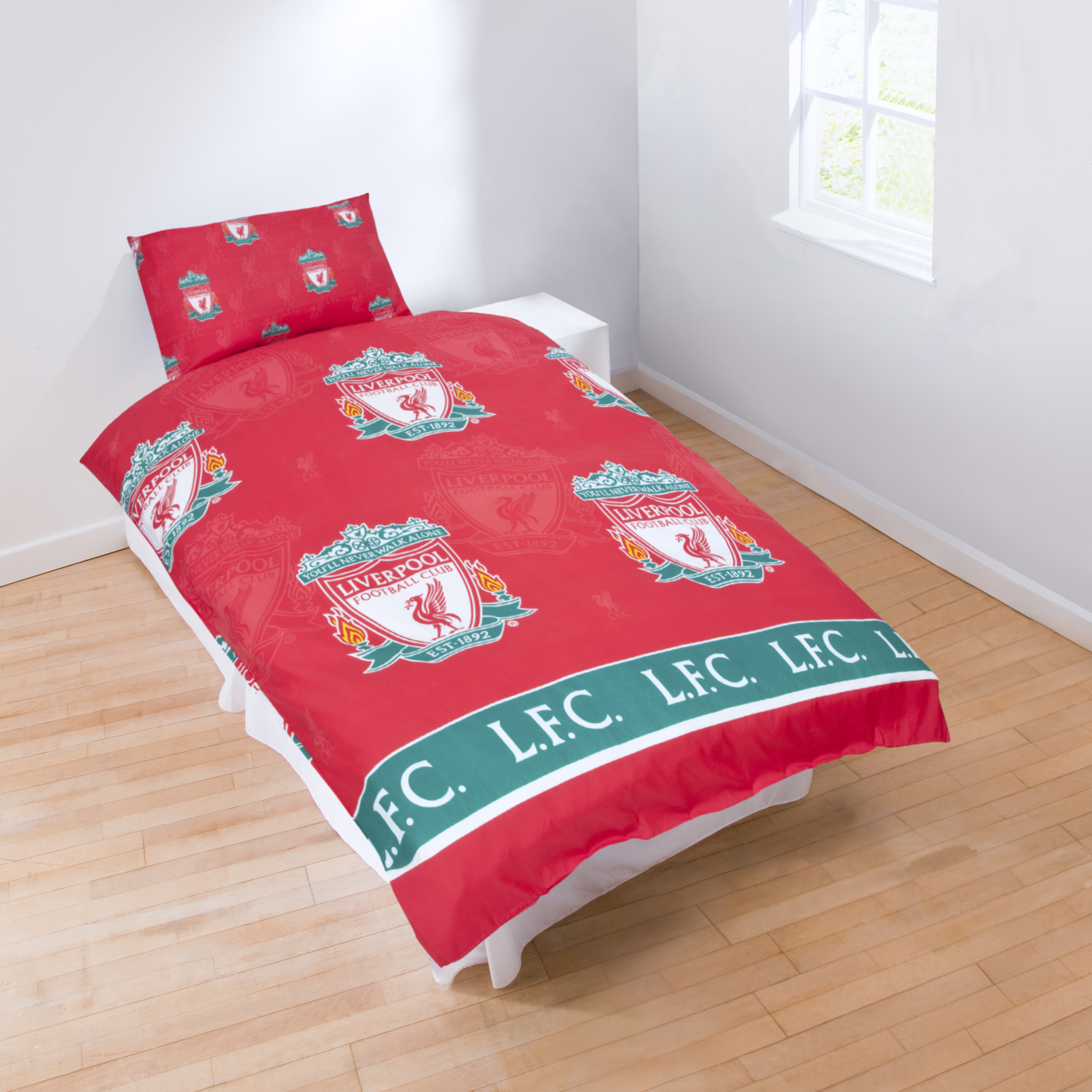 Liverpool FC Single Duvet and Pillowcase